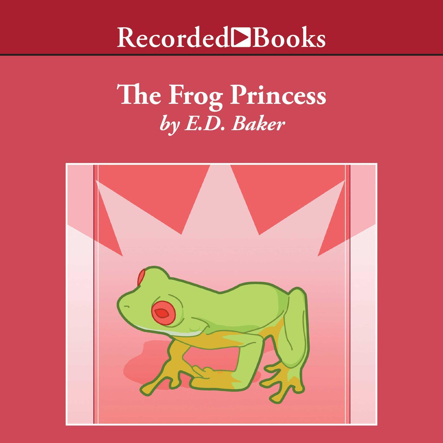 Printable The Frog Princess Audiobook Cover Art