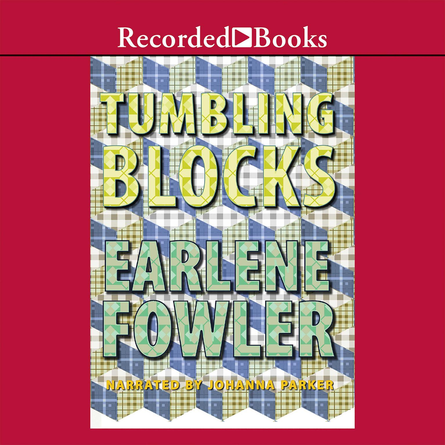 Printable Tumbling Blocks Audiobook Cover Art