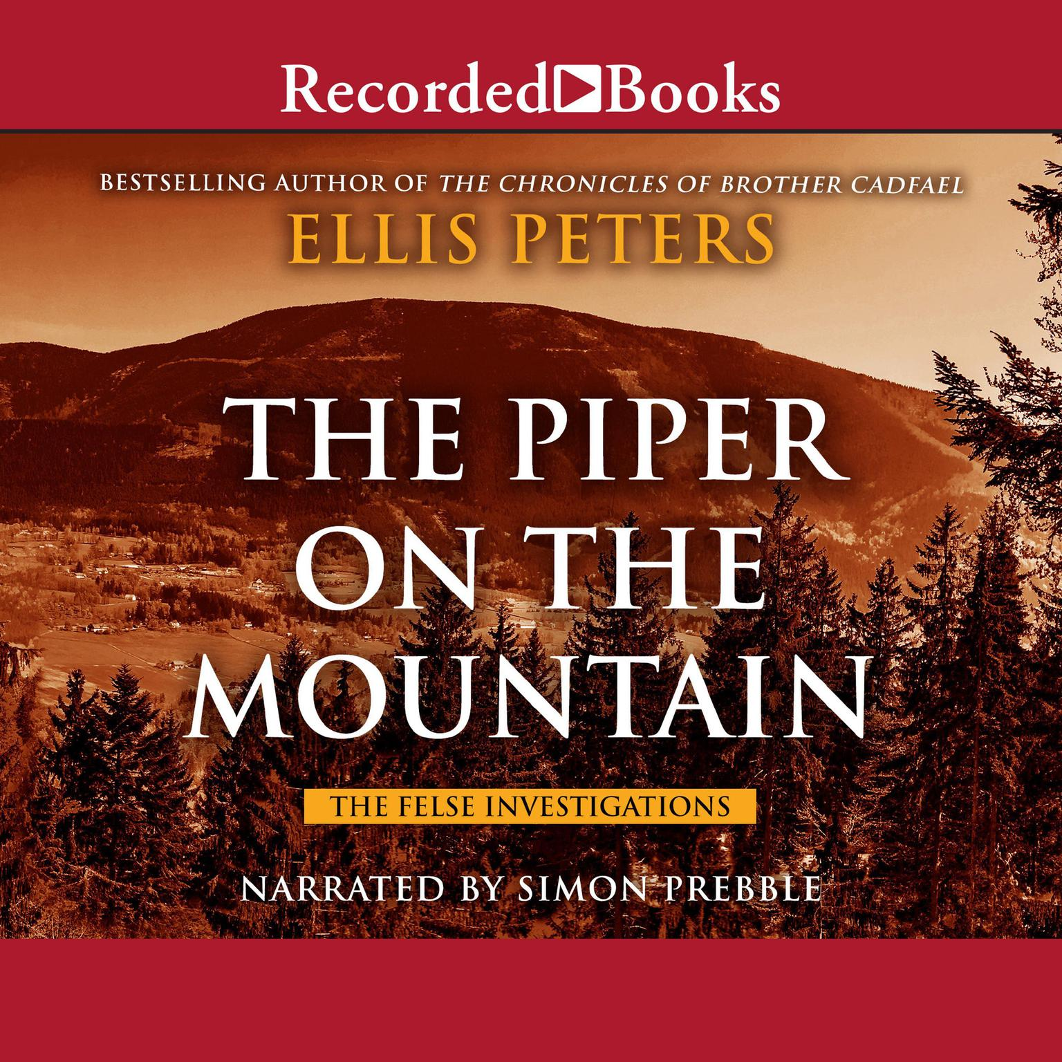 Printable The Piper on the Mountain Audiobook Cover Art