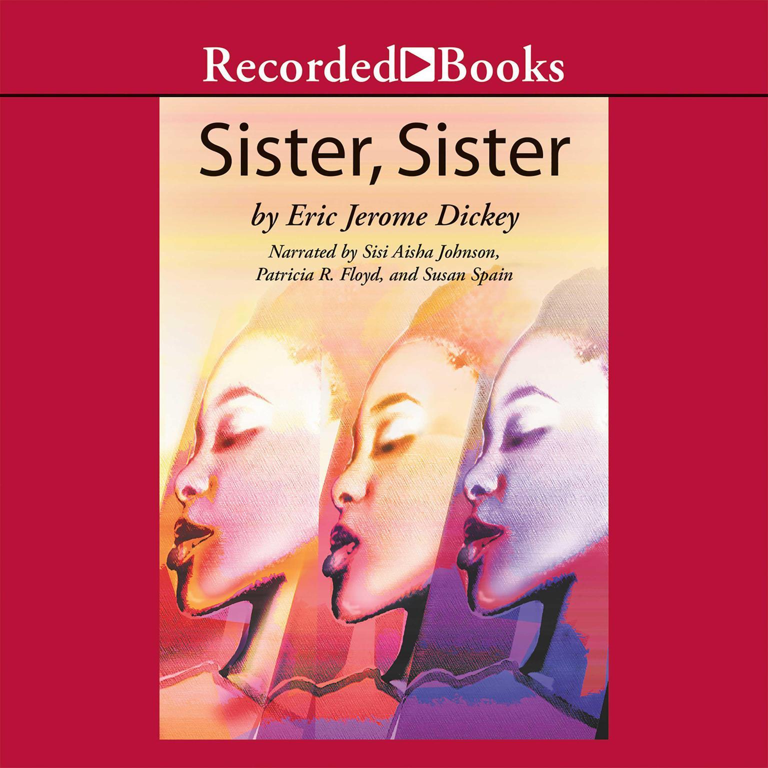 Printable Sister, Sister Audiobook Cover Art