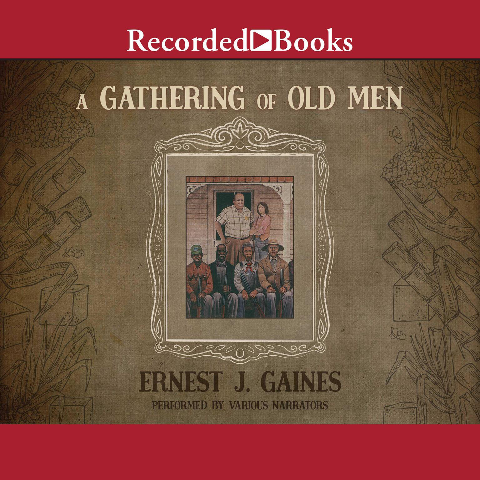 Printable A Gathering of Old Men Audiobook Cover Art