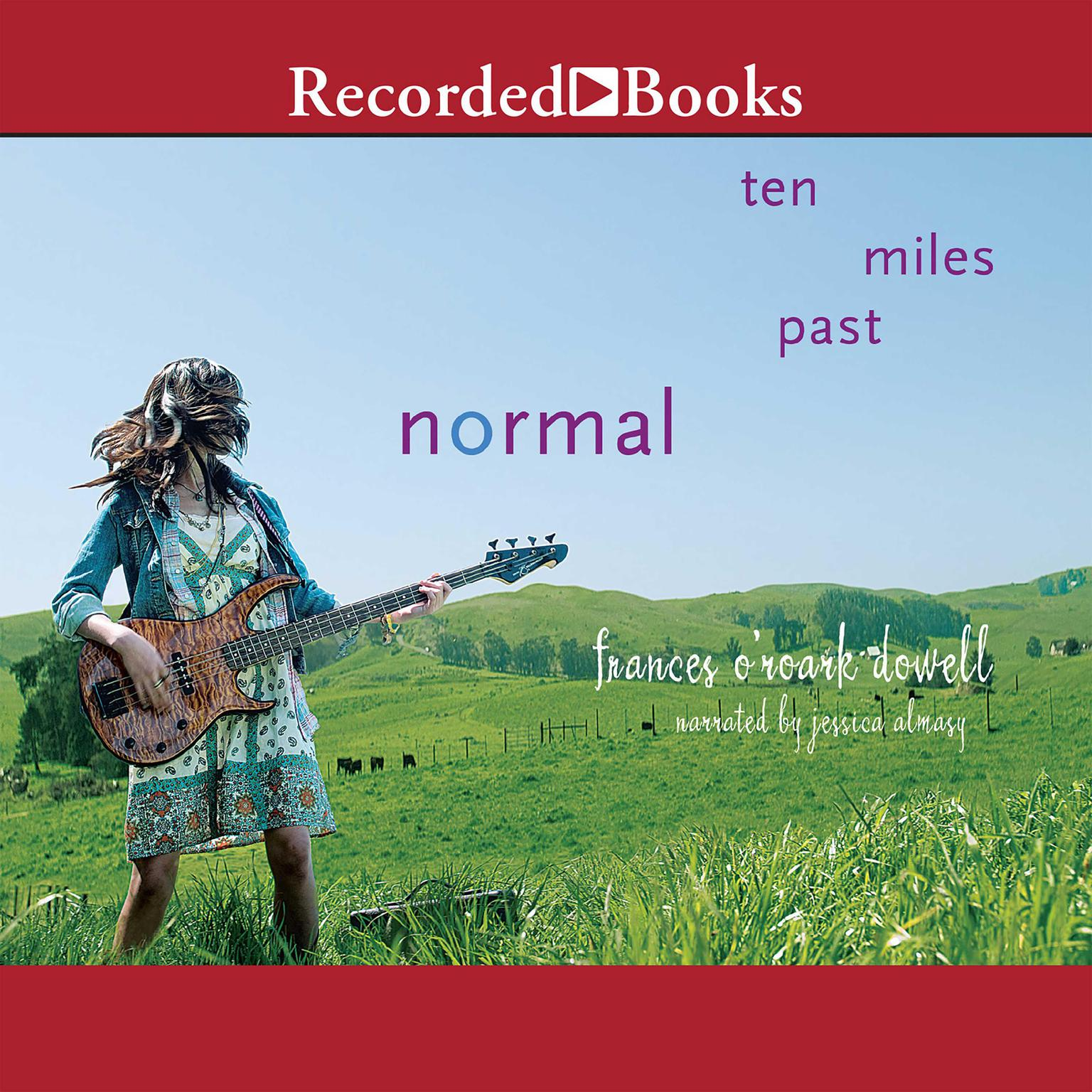 Printable Ten Miles Past Normal Audiobook Cover Art