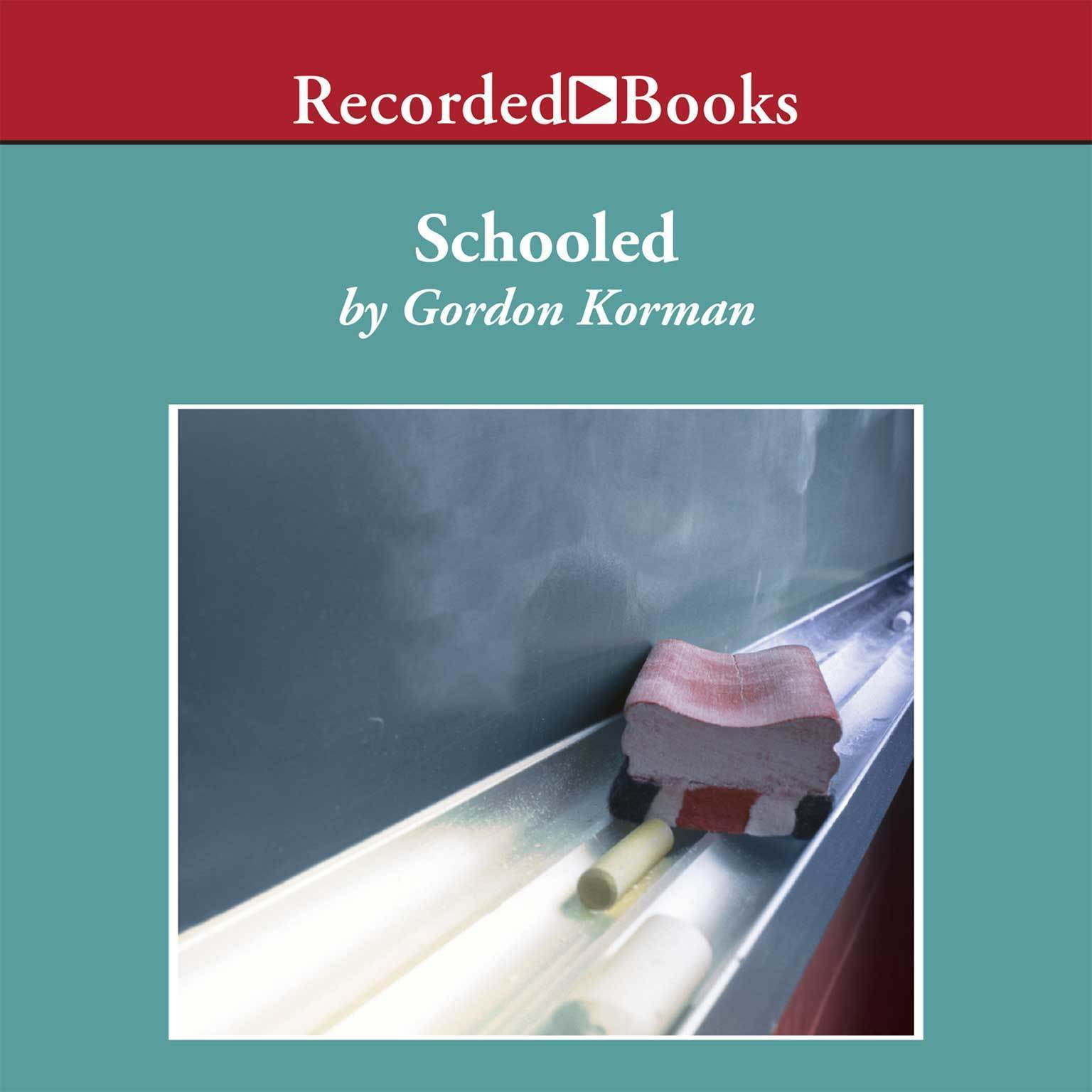 Printable Schooled Audiobook Cover Art