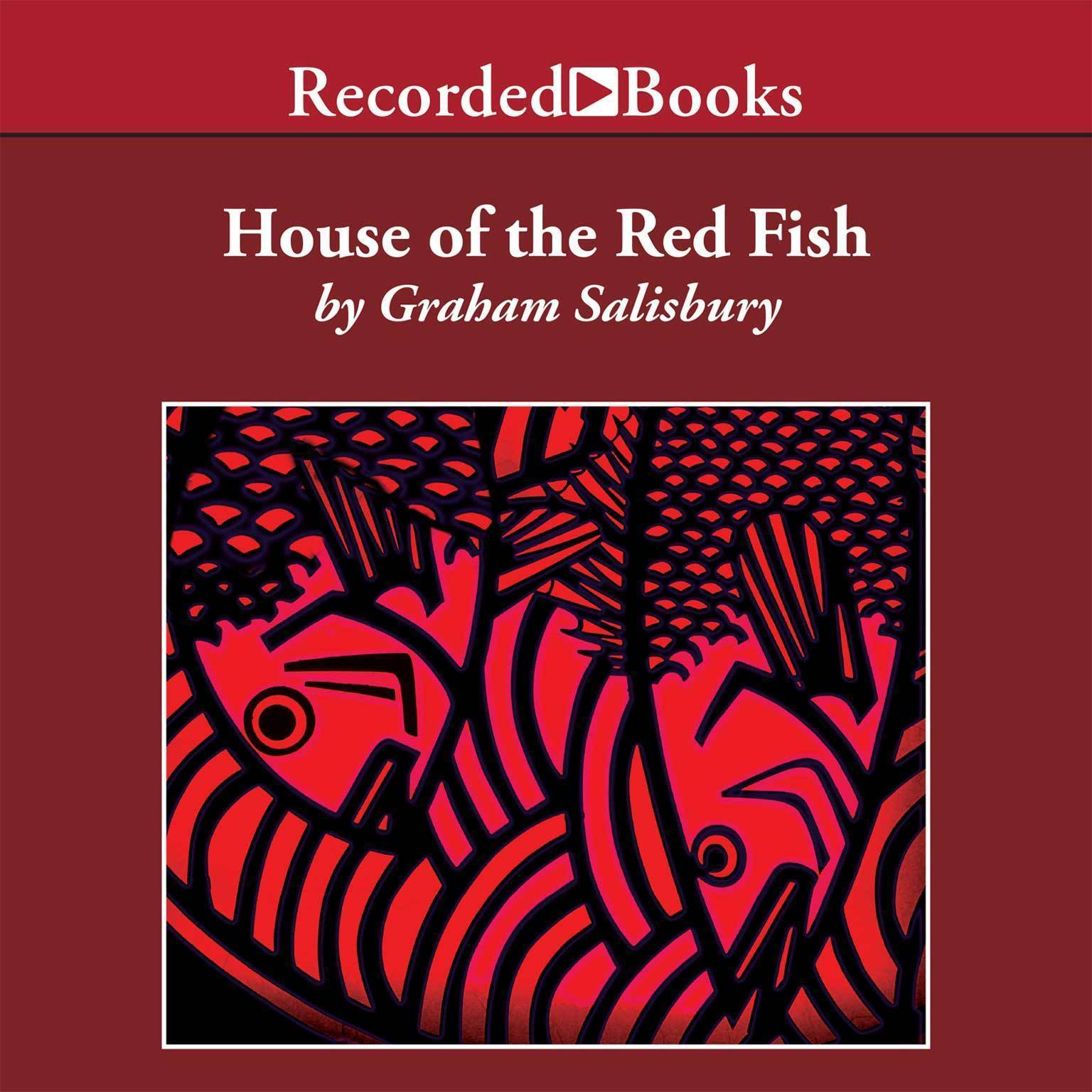 Printable House of the Red Fish Audiobook Cover Art