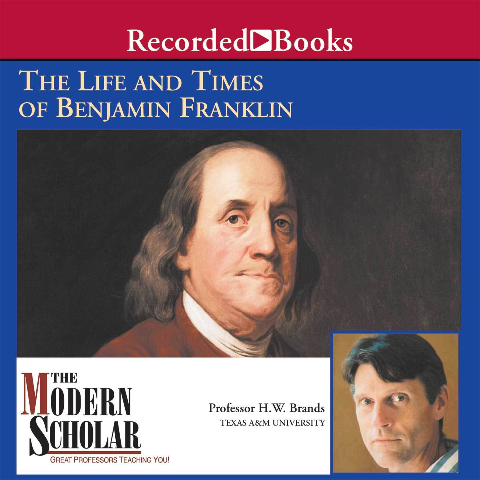 Printable The First American: The Life and Times of Benjamin Franklin Audiobook Cover Art