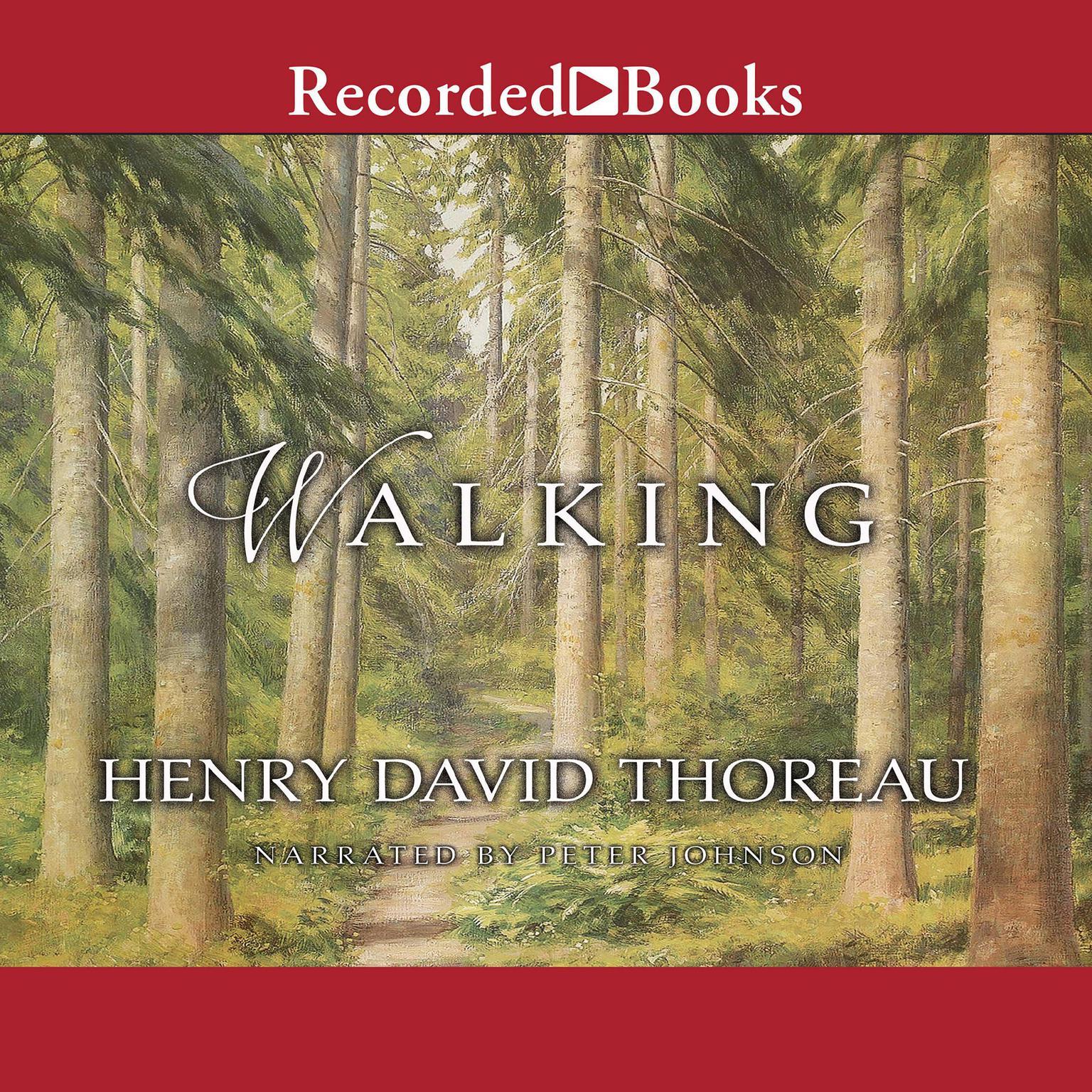 Printable Walking Audiobook Cover Art