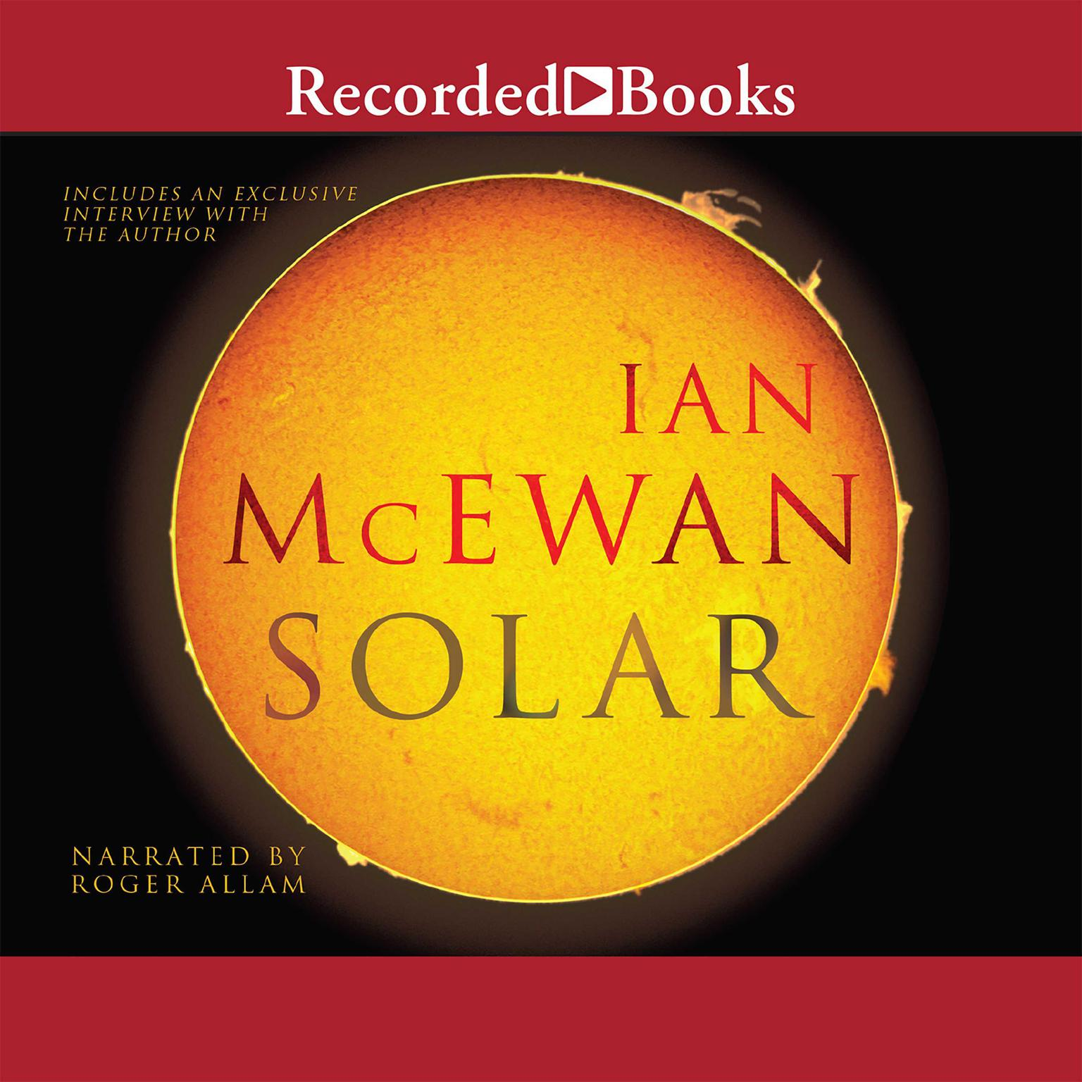 Printable Solar Audiobook Cover Art