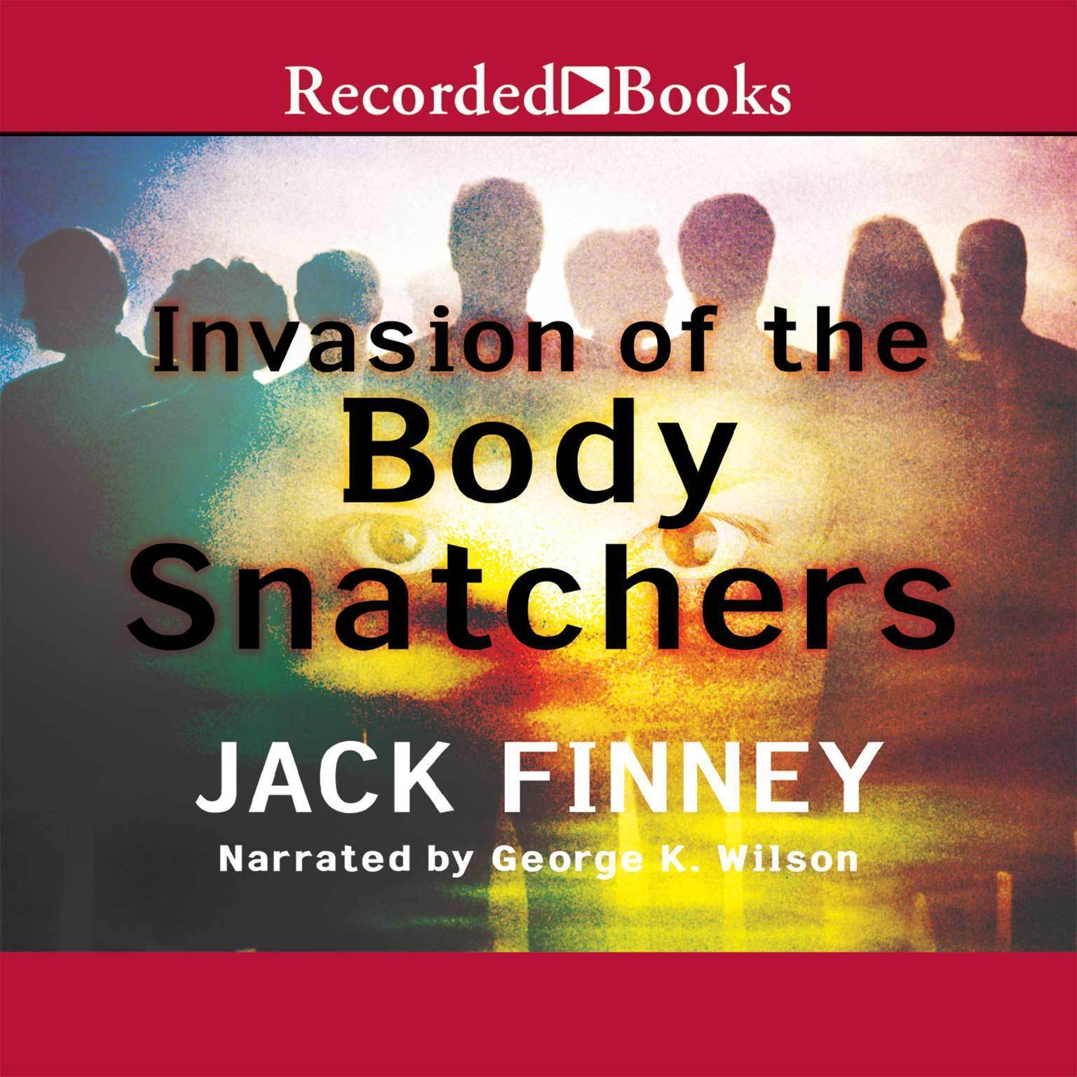 Printable Invasion of the Body Snatchers Audiobook Cover Art