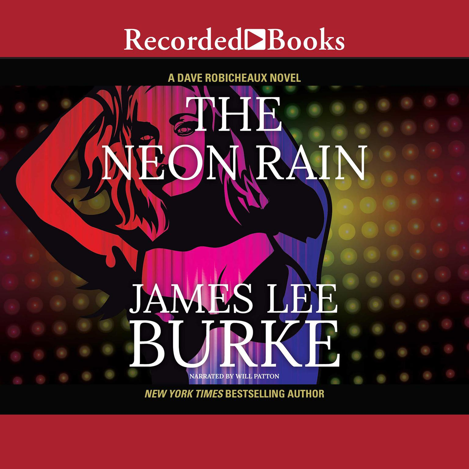 Printable The Neon Rain Audiobook Cover Art