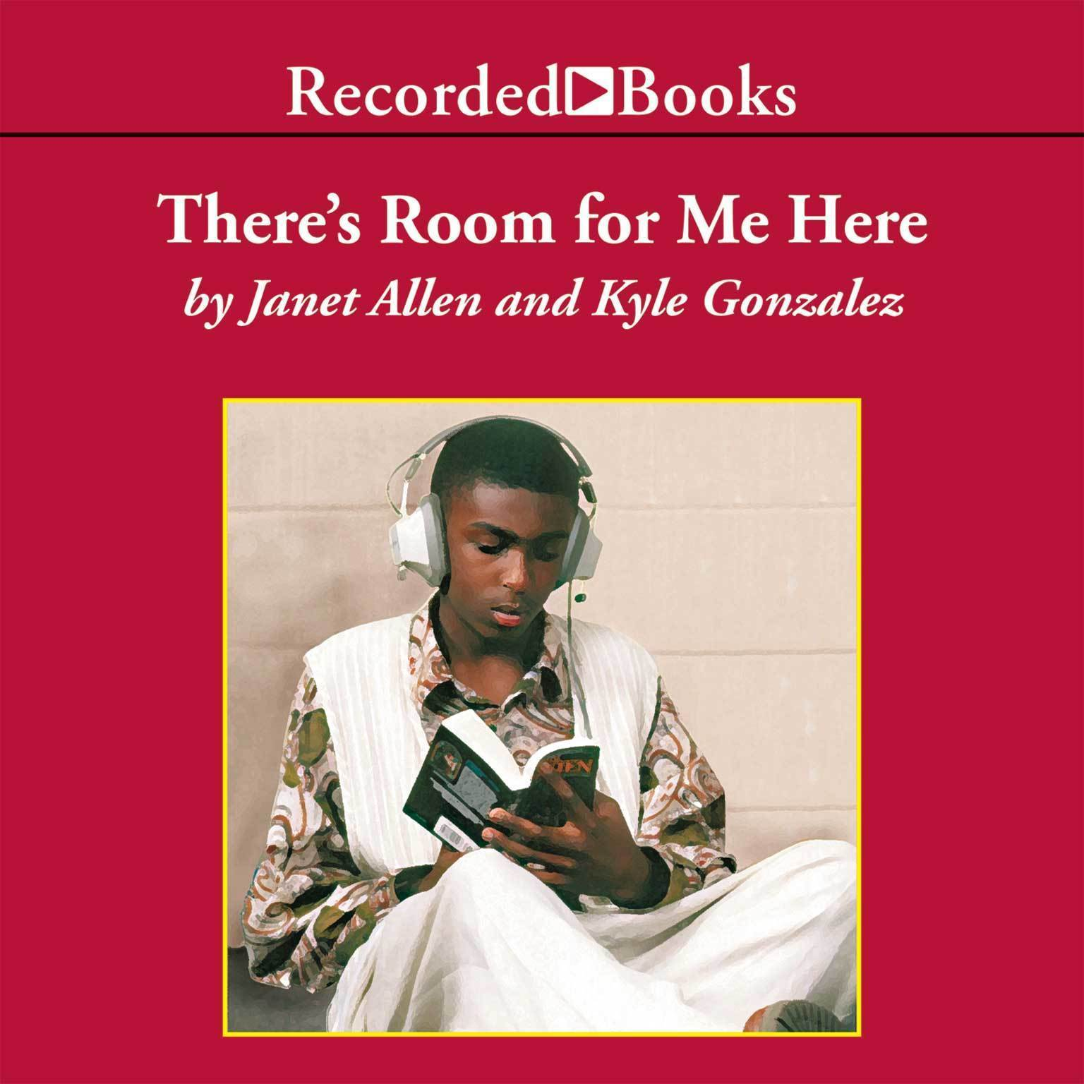 Printable There's Room for Me Here: Literacy Workshop in the Middle School Audiobook Cover Art
