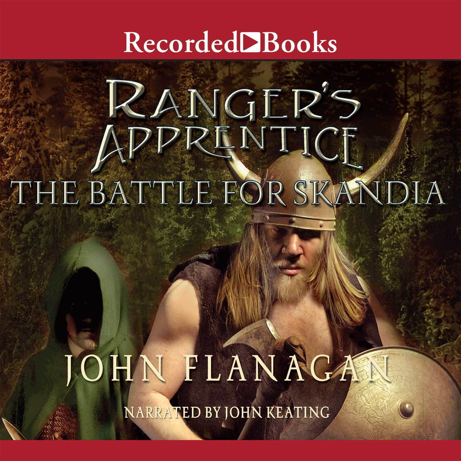 Printable The Battle for Skandia Audiobook Cover Art
