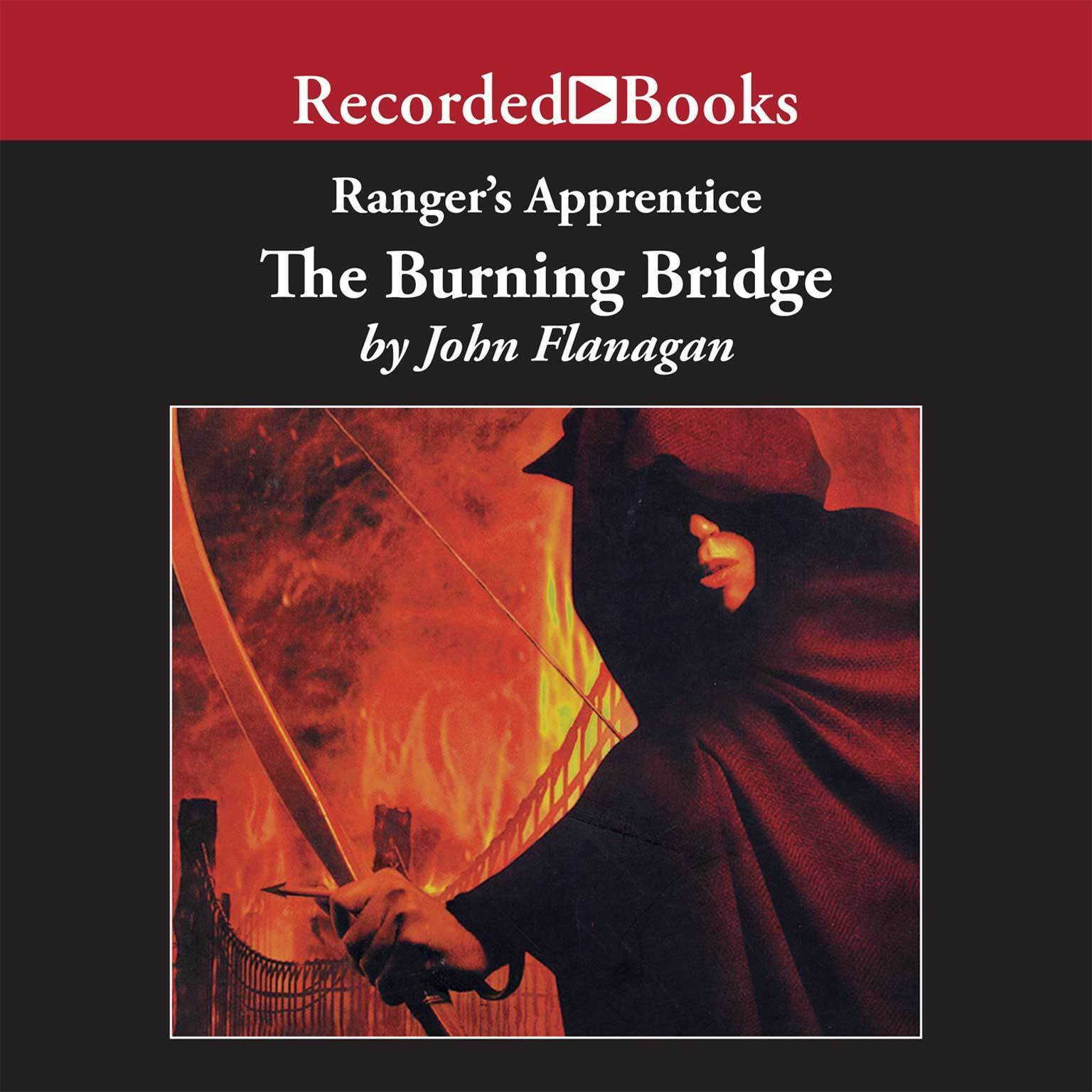 Printable The Burning Bridge Audiobook Cover Art