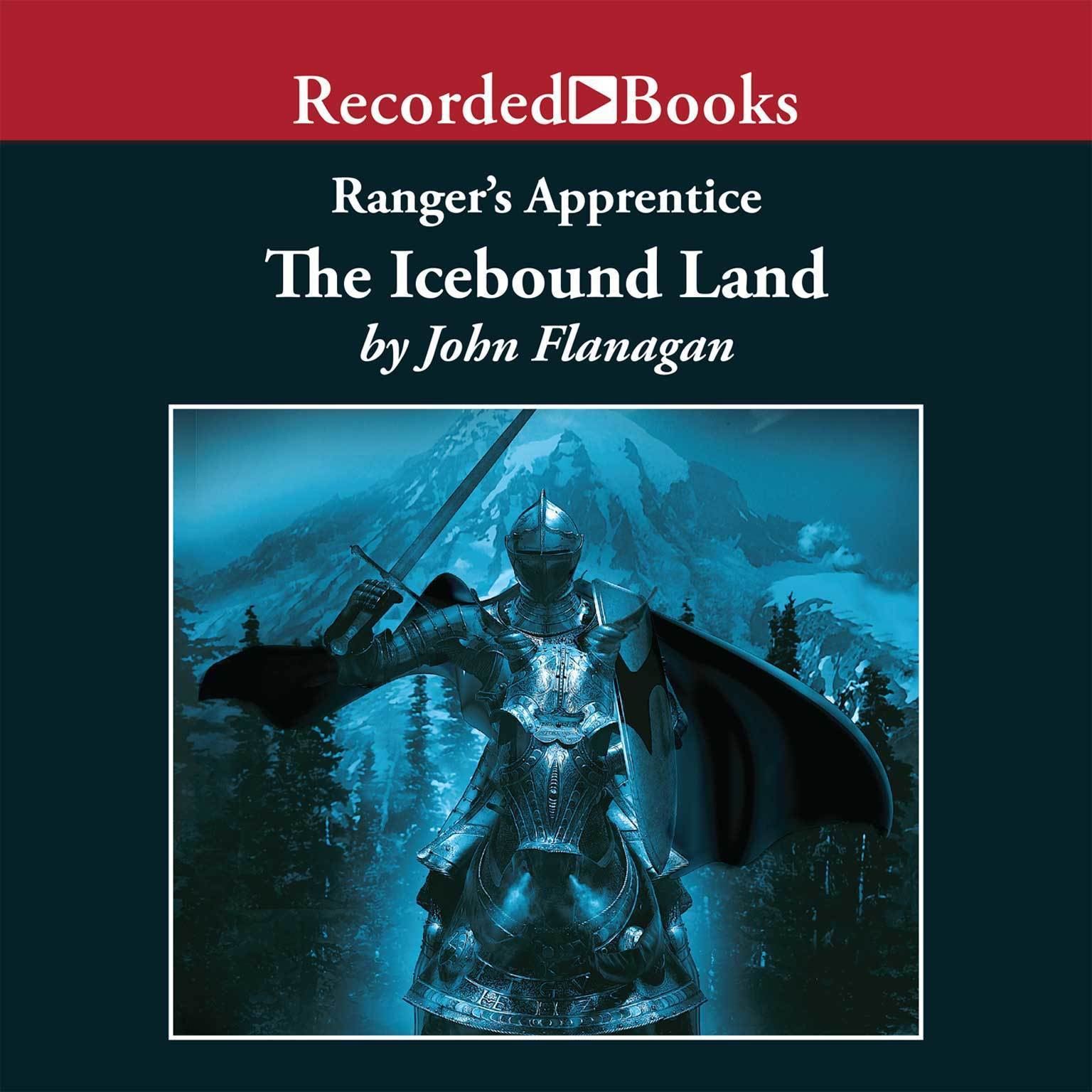 Printable The Icebound Land Audiobook Cover Art