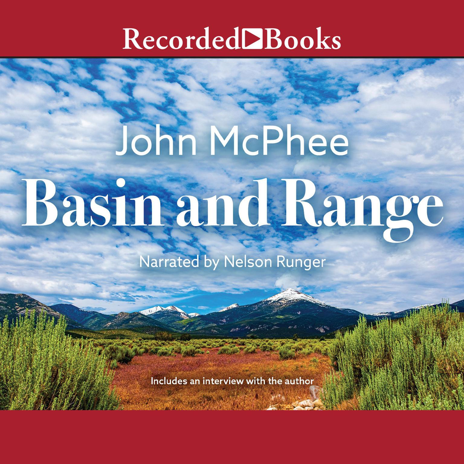 Printable Basin and Range Audiobook Cover Art