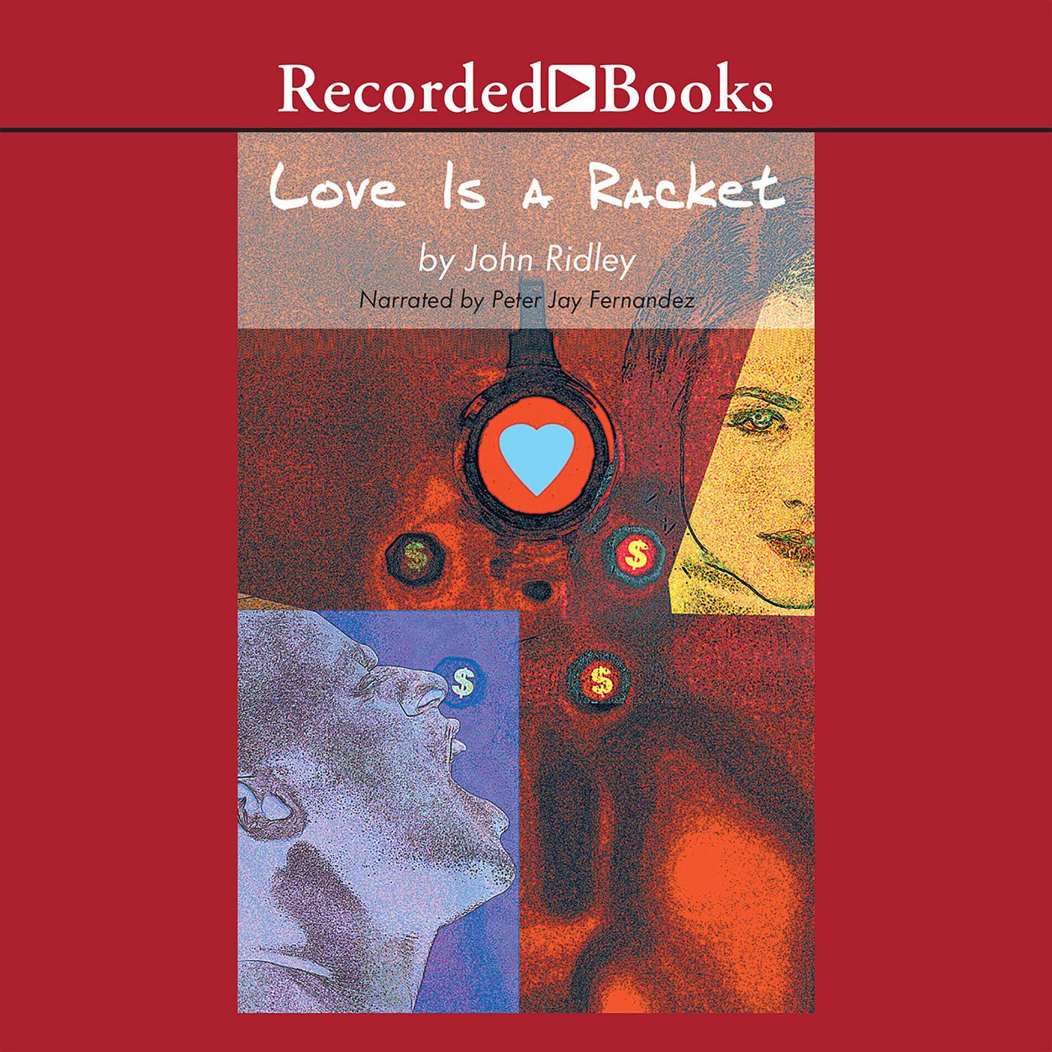 Printable Love is a Racket Audiobook Cover Art