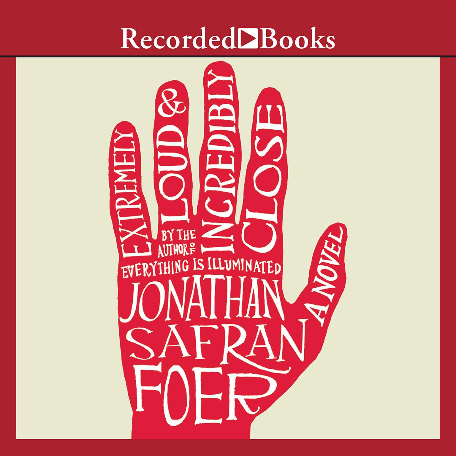 Printable Extremely Loud and Incredibly Close Audiobook Cover Art