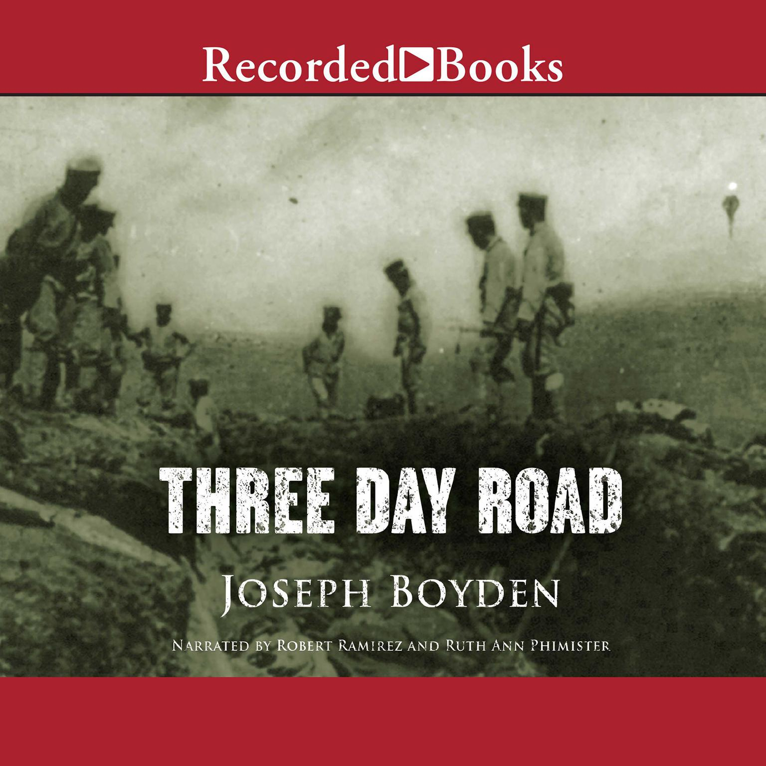 Printable Three Day Road Audiobook Cover Art