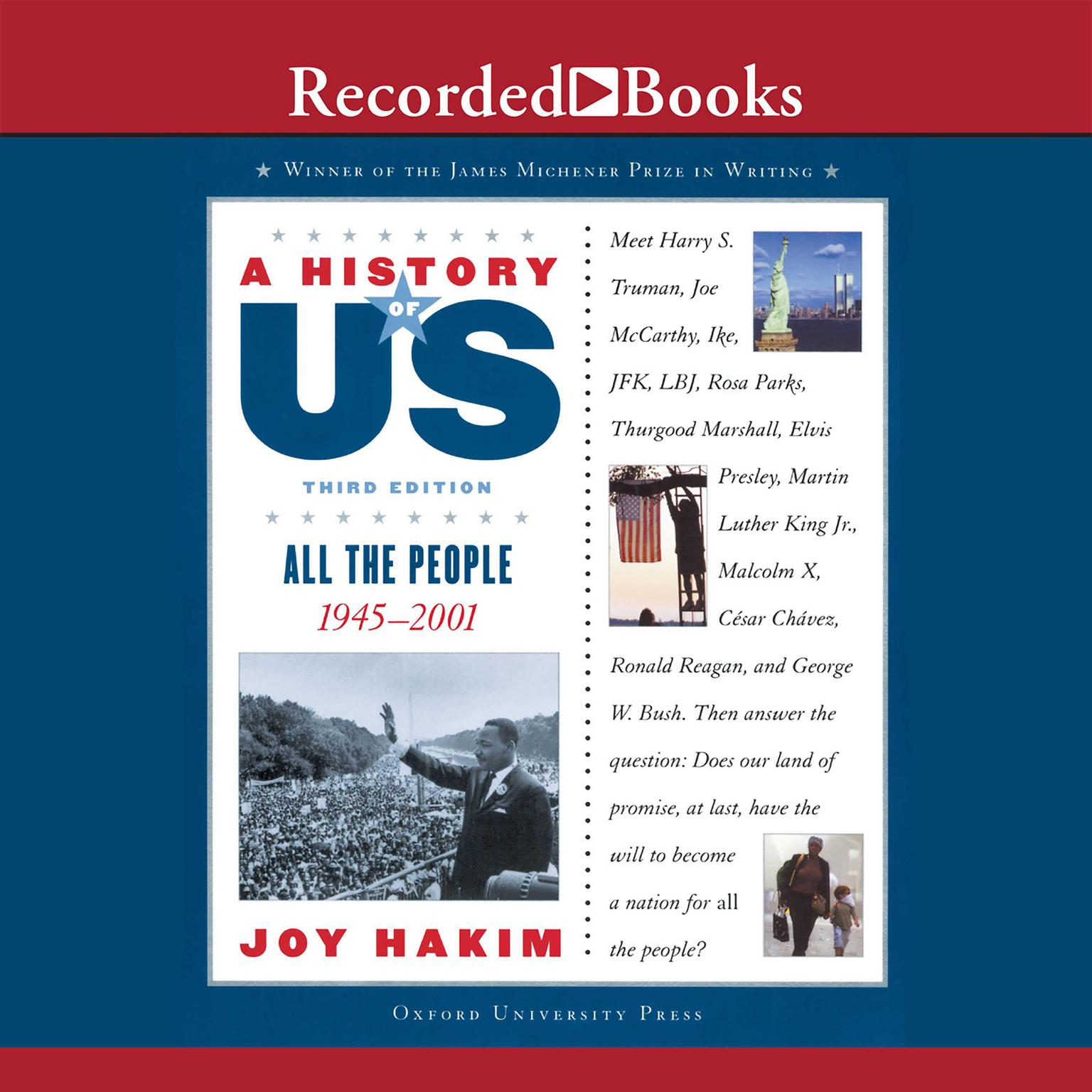Printable All the People: 1945–2001 Audiobook Cover Art