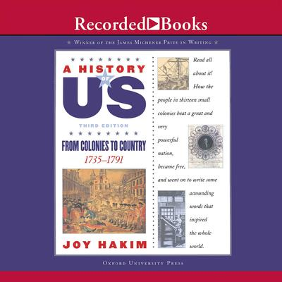 From Colonies to Country::  Book 3 (1735-1791) Audiobook, by