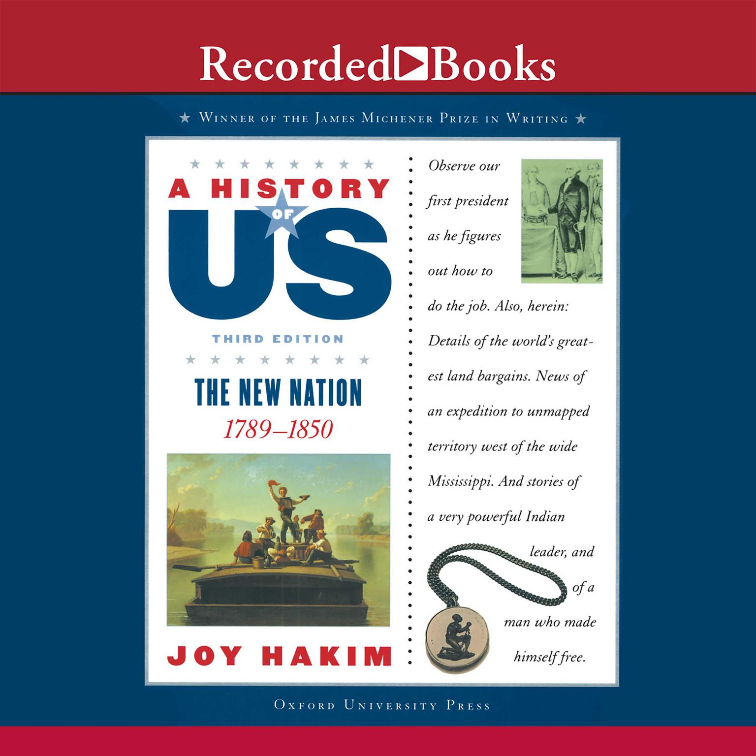 Printable The New Nation: A History of US, Book 4 Audiobook Cover Art