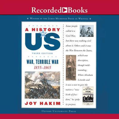 War, Terrible War: Book 6 (1855-1865) Audiobook, by