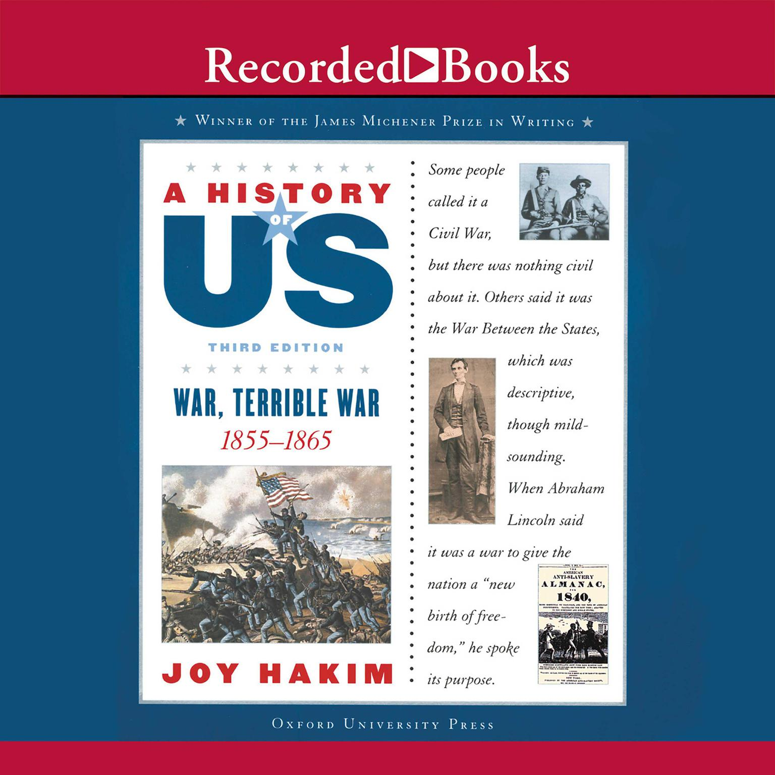 Printable War, Terrible War: Book 6 (1855-1865) Audiobook Cover Art