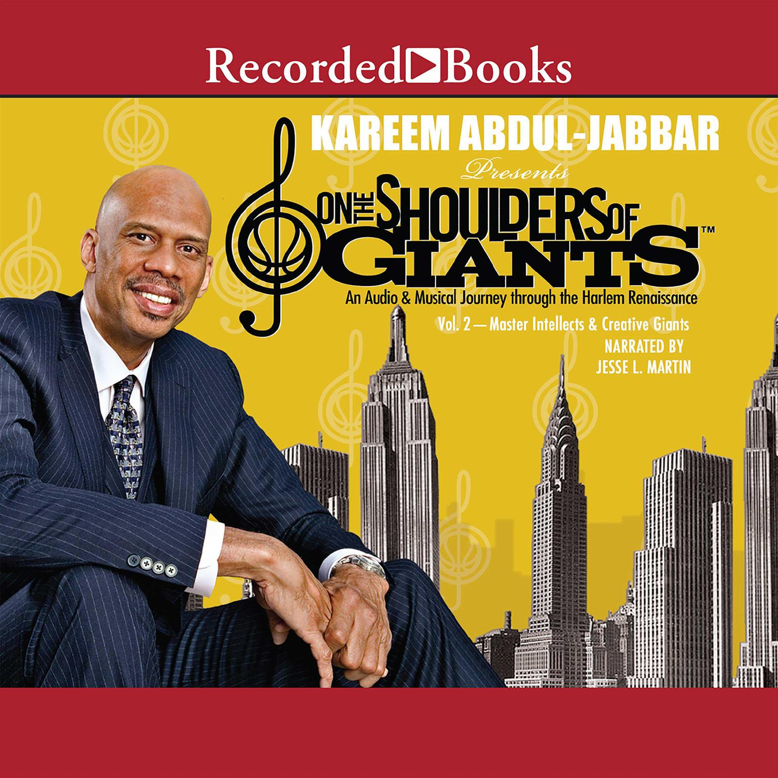 Printable On the Shoulders of Giants, Vol. 2: Master Intellects and Creative Giants Audiobook Cover Art