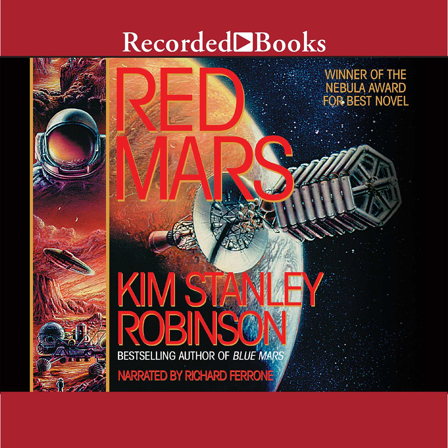 Printable Red Mars Audiobook Cover Art