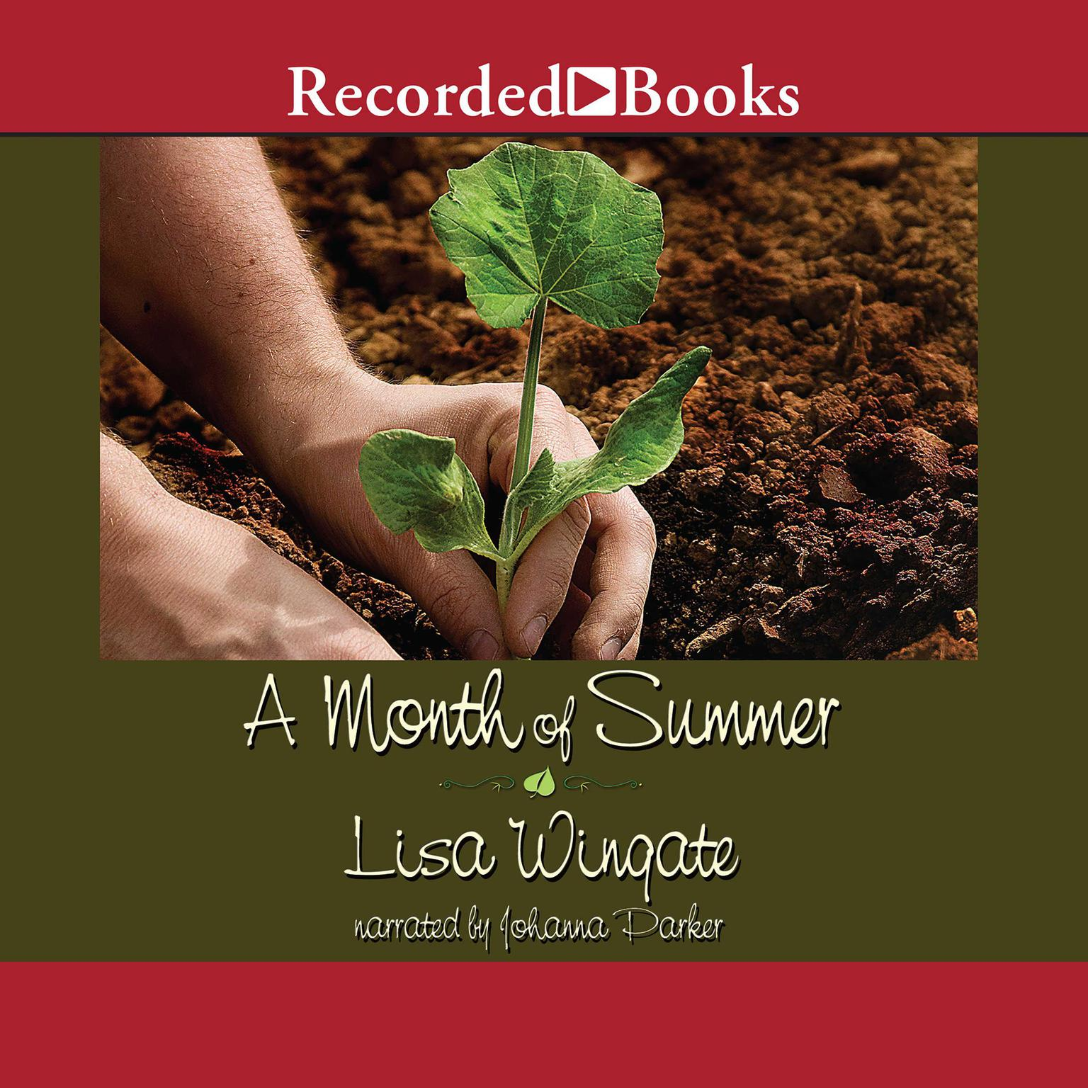 Printable A Month of Summer Audiobook Cover Art