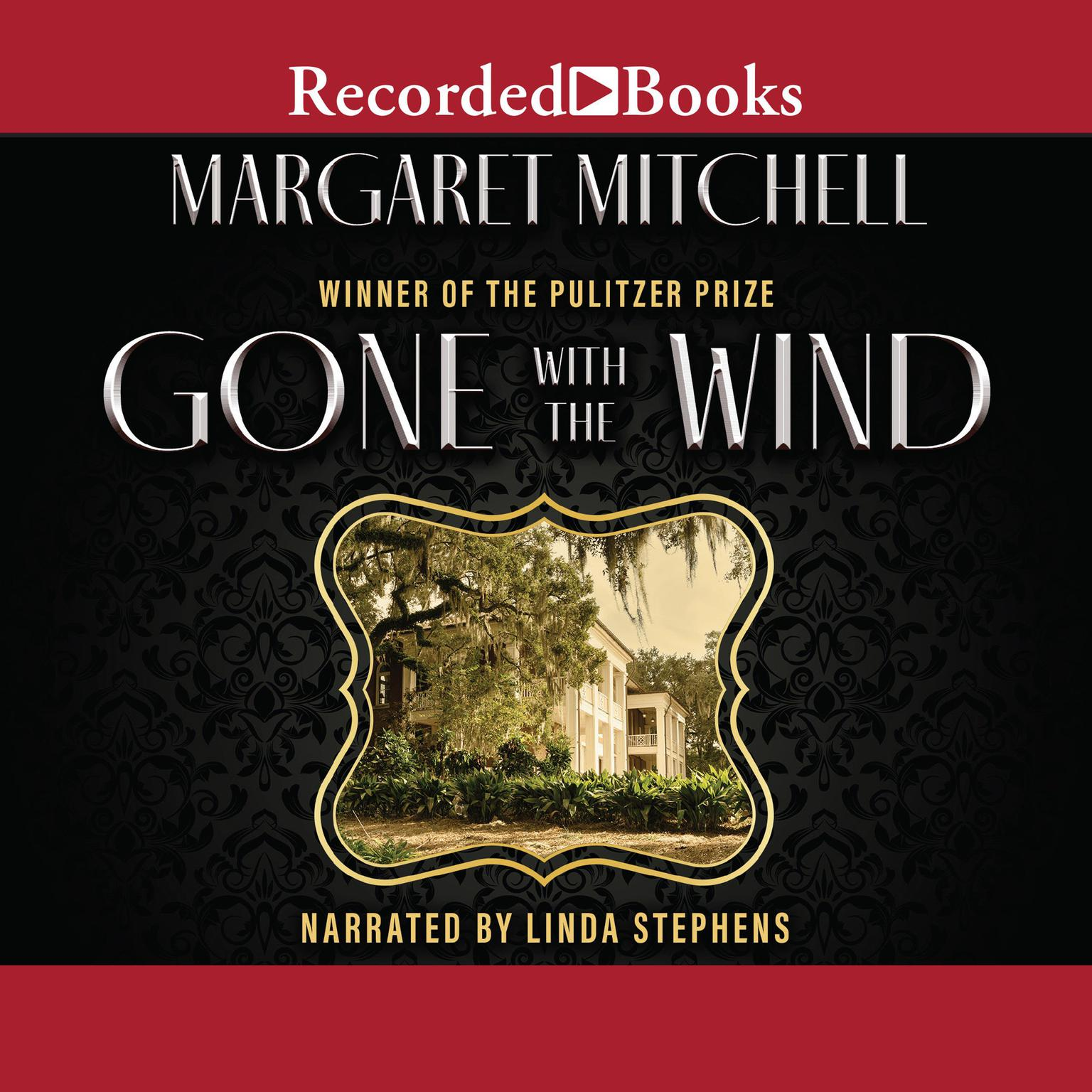Printable Gone with the Wind Audiobook Cover Art