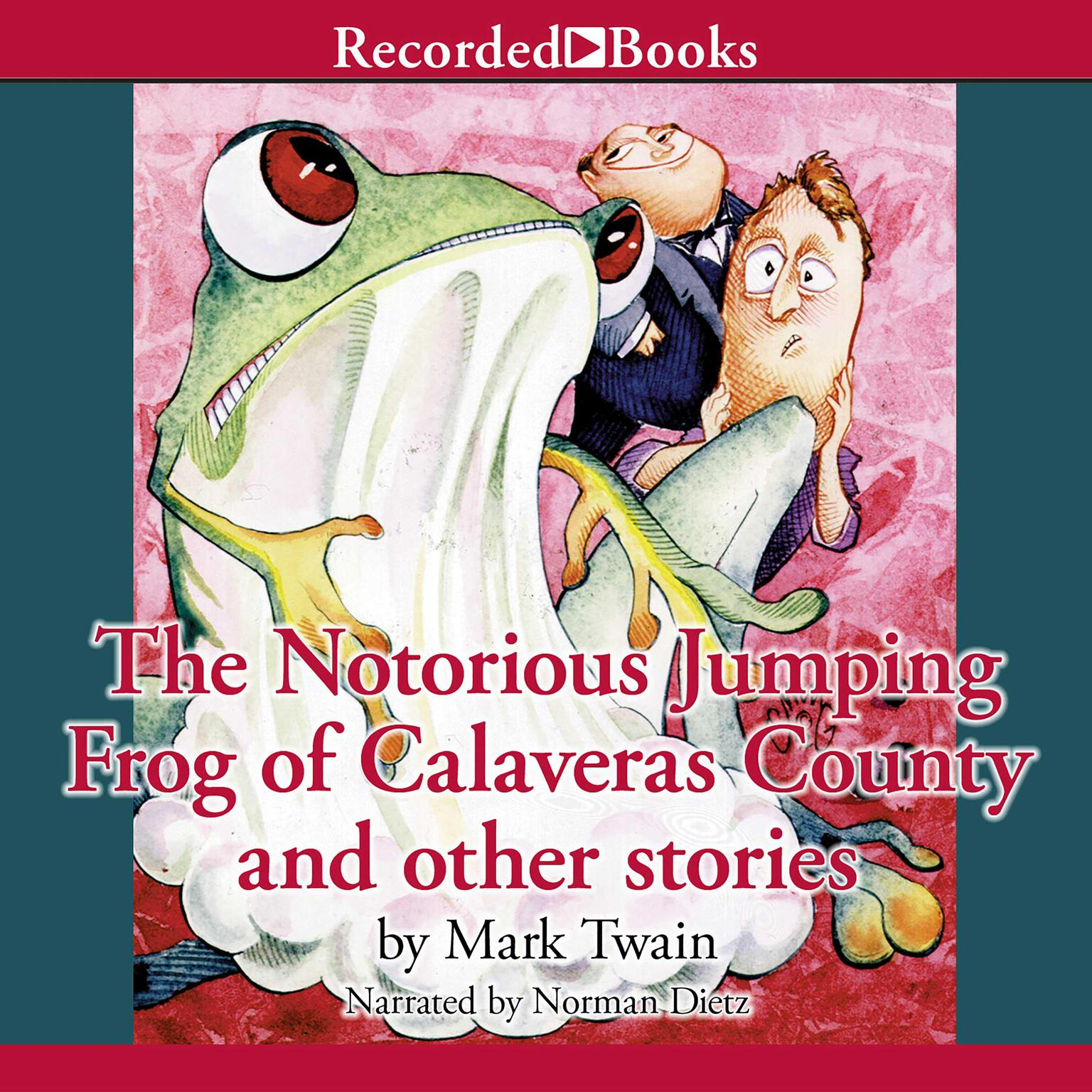 Printable The Notorious Jumping Frog of Calaveras County and Other Stories Audiobook Cover Art