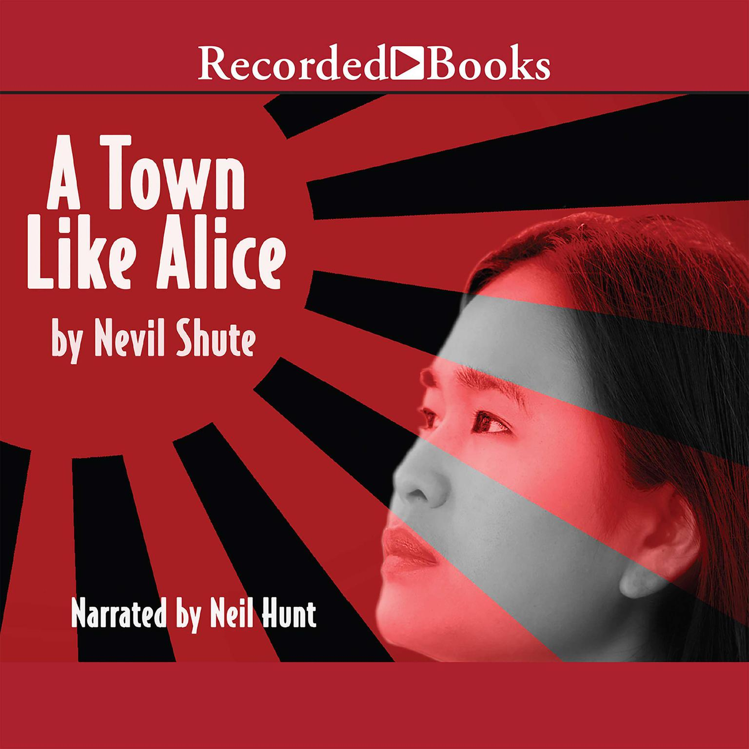 Printable A Town like Alice Audiobook Cover Art