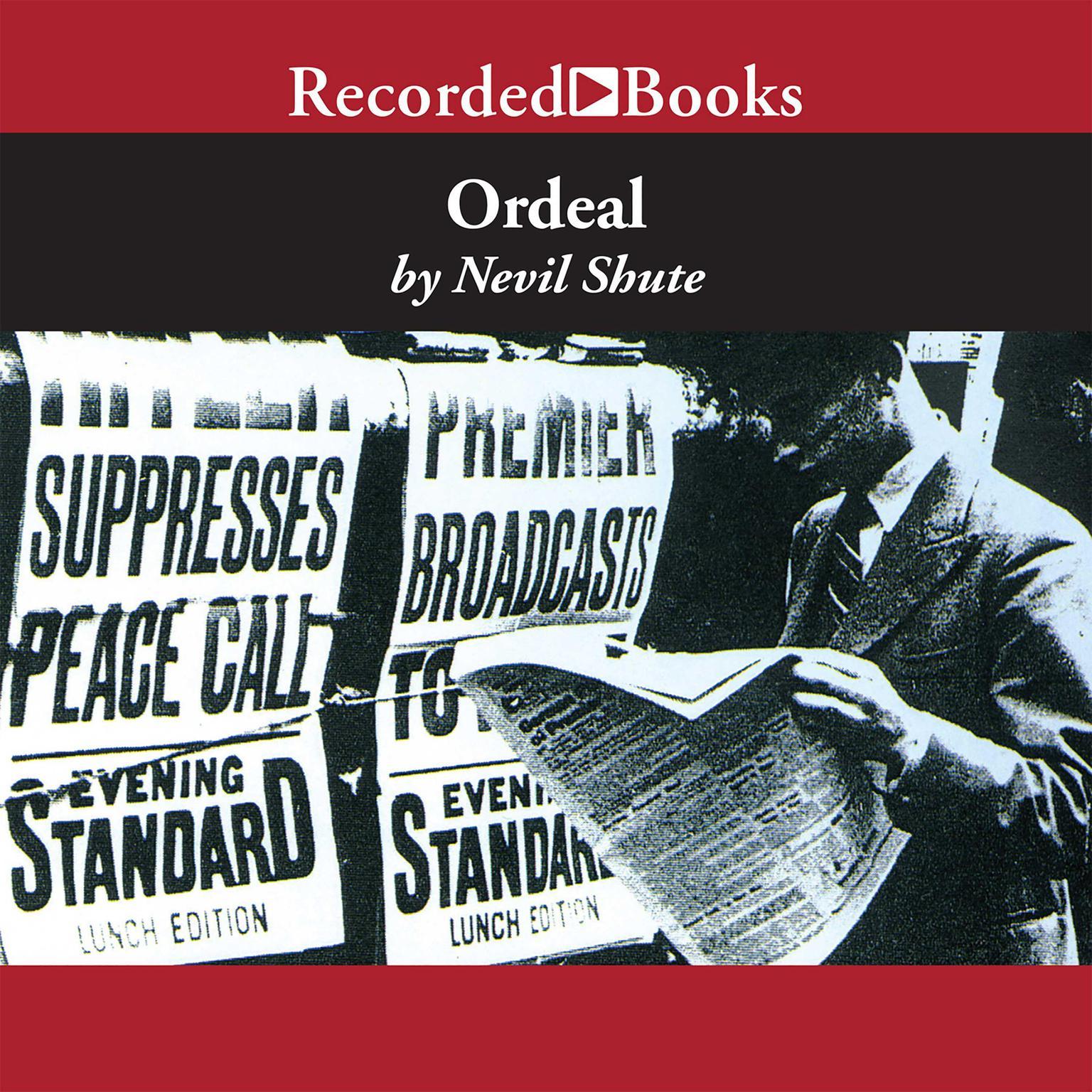 Printable Ordeal Audiobook Cover Art
