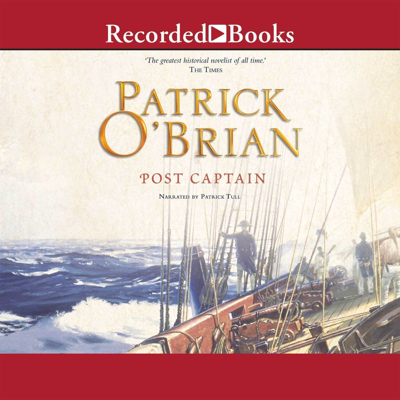 Printable Post Captain: The Aubrey-Maturin Series, Book 2 Audiobook Cover Art