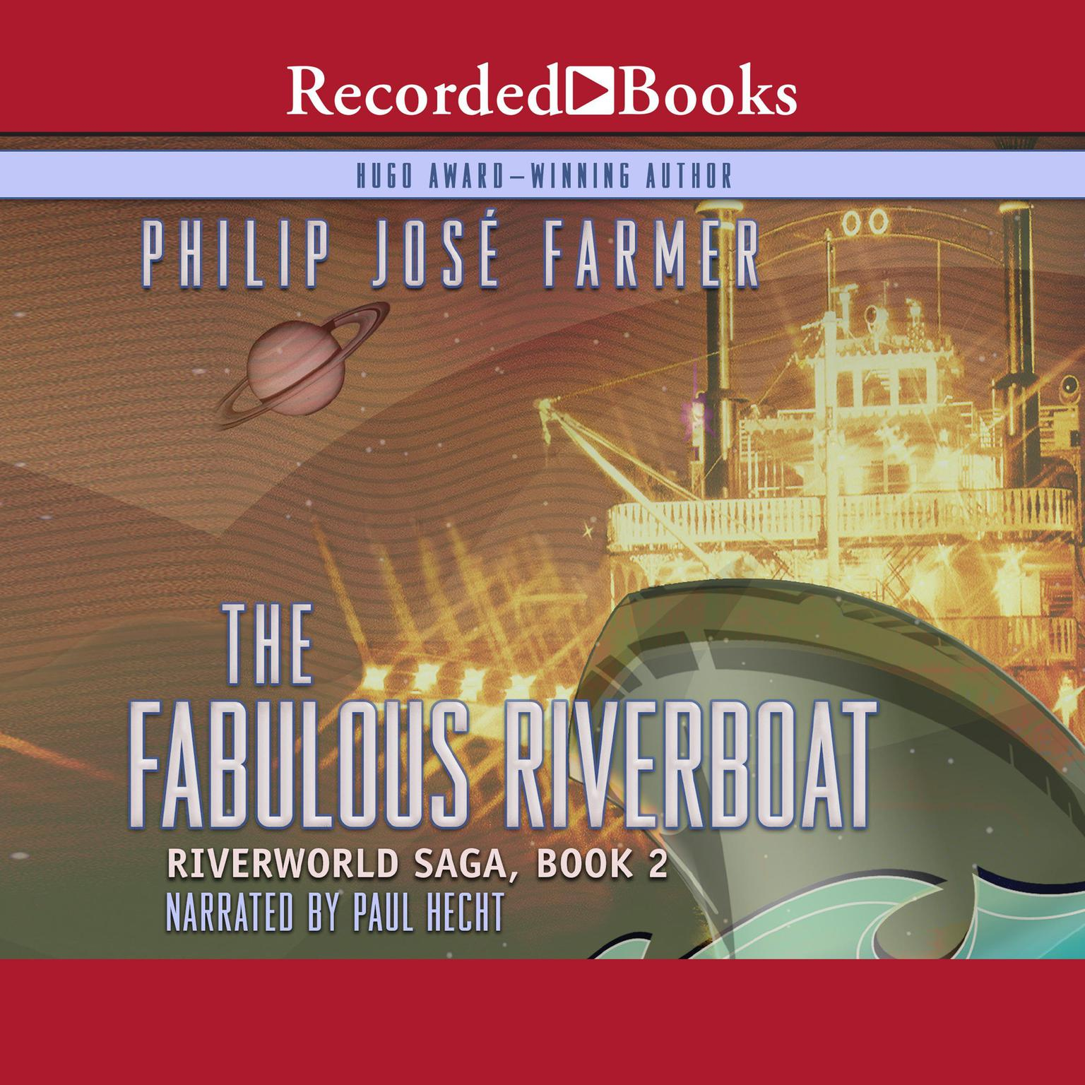 Printable The Fabulous Riverboat Audiobook Cover Art