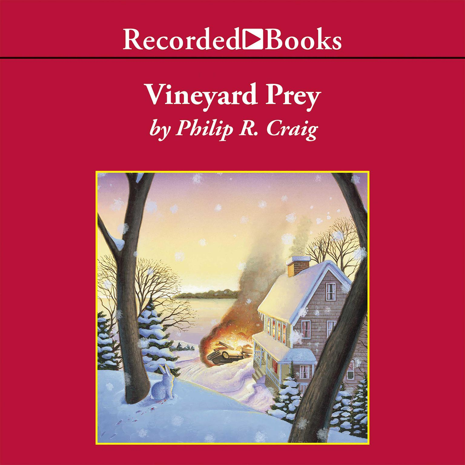 Printable Vineyard Prey Audiobook Cover Art