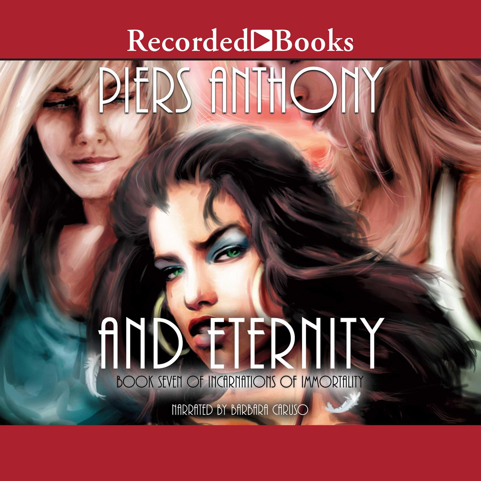 Printable And Eternity: Book Seven of Incarnations of Immortality Audiobook Cover Art