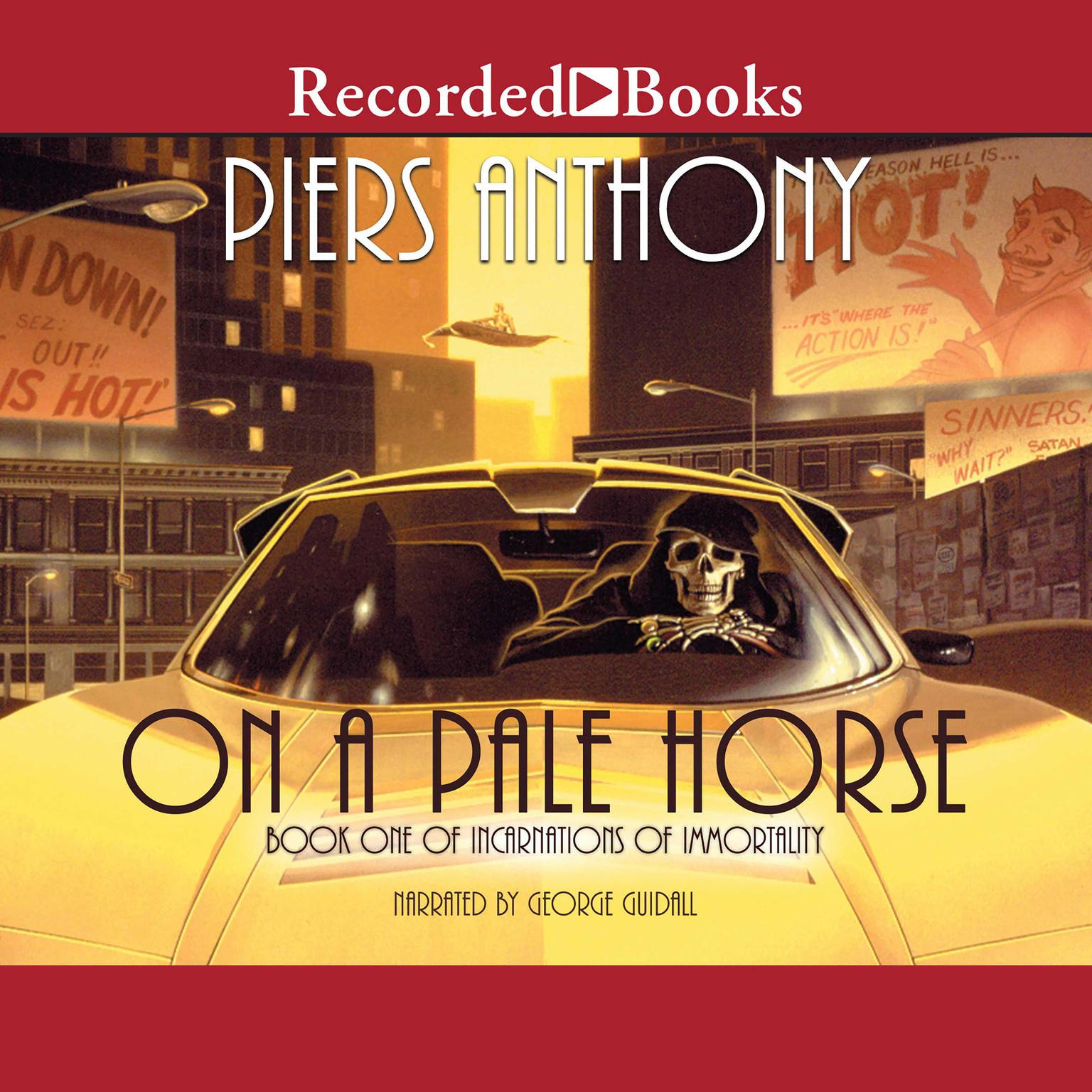 Printable On a Pale Horse Audiobook Cover Art