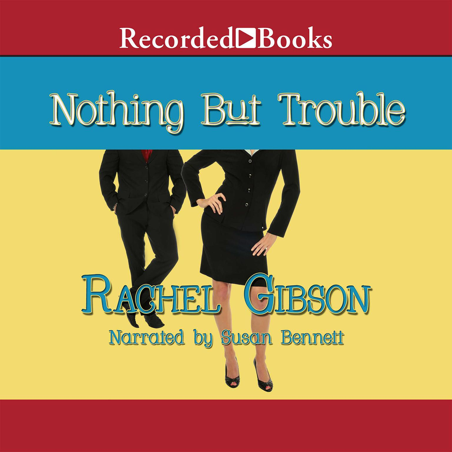 Printable Nothing but Trouble Audiobook Cover Art