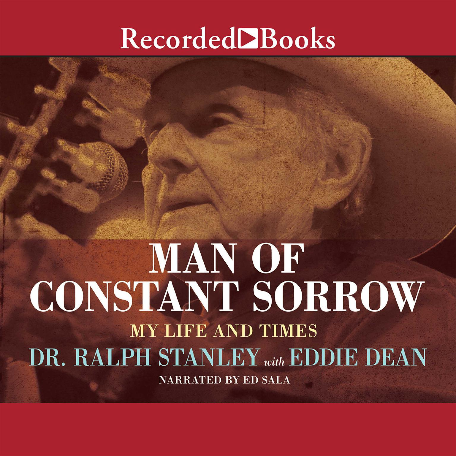 Printable Man of Constant Sorrow: My Life and Times Audiobook Cover Art