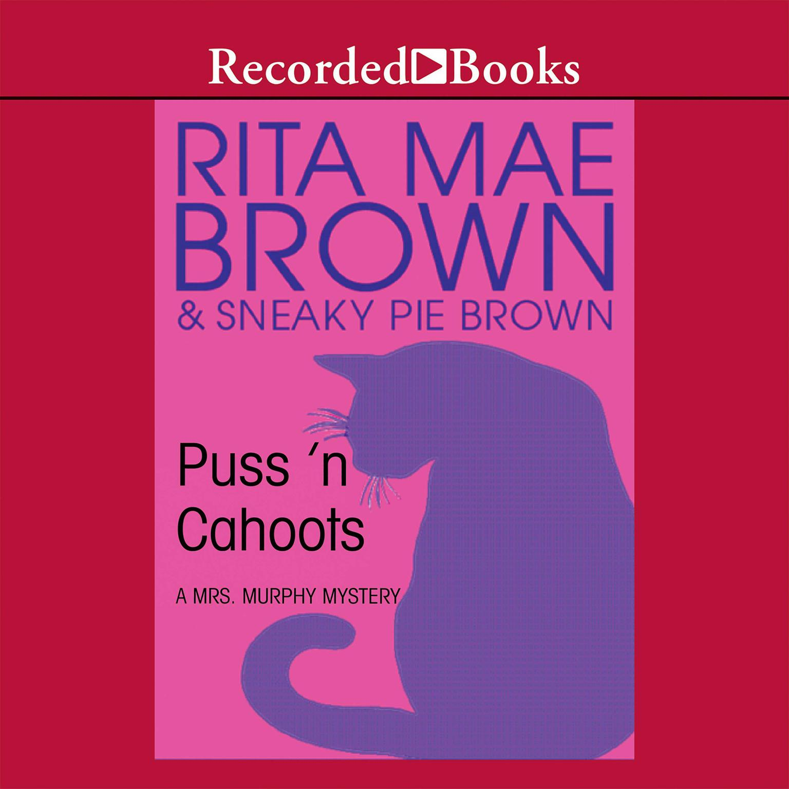 Printable Puss'n Cahoots Audiobook Cover Art