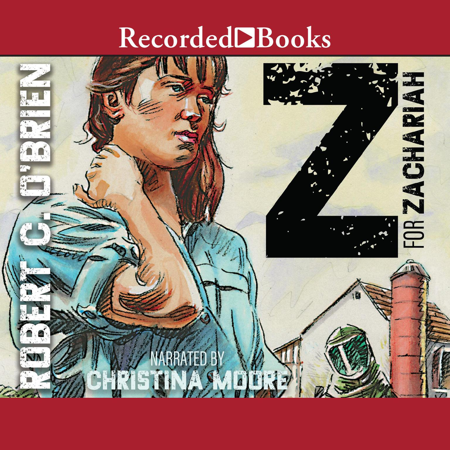 Printable Z for Zachariah Audiobook Cover Art