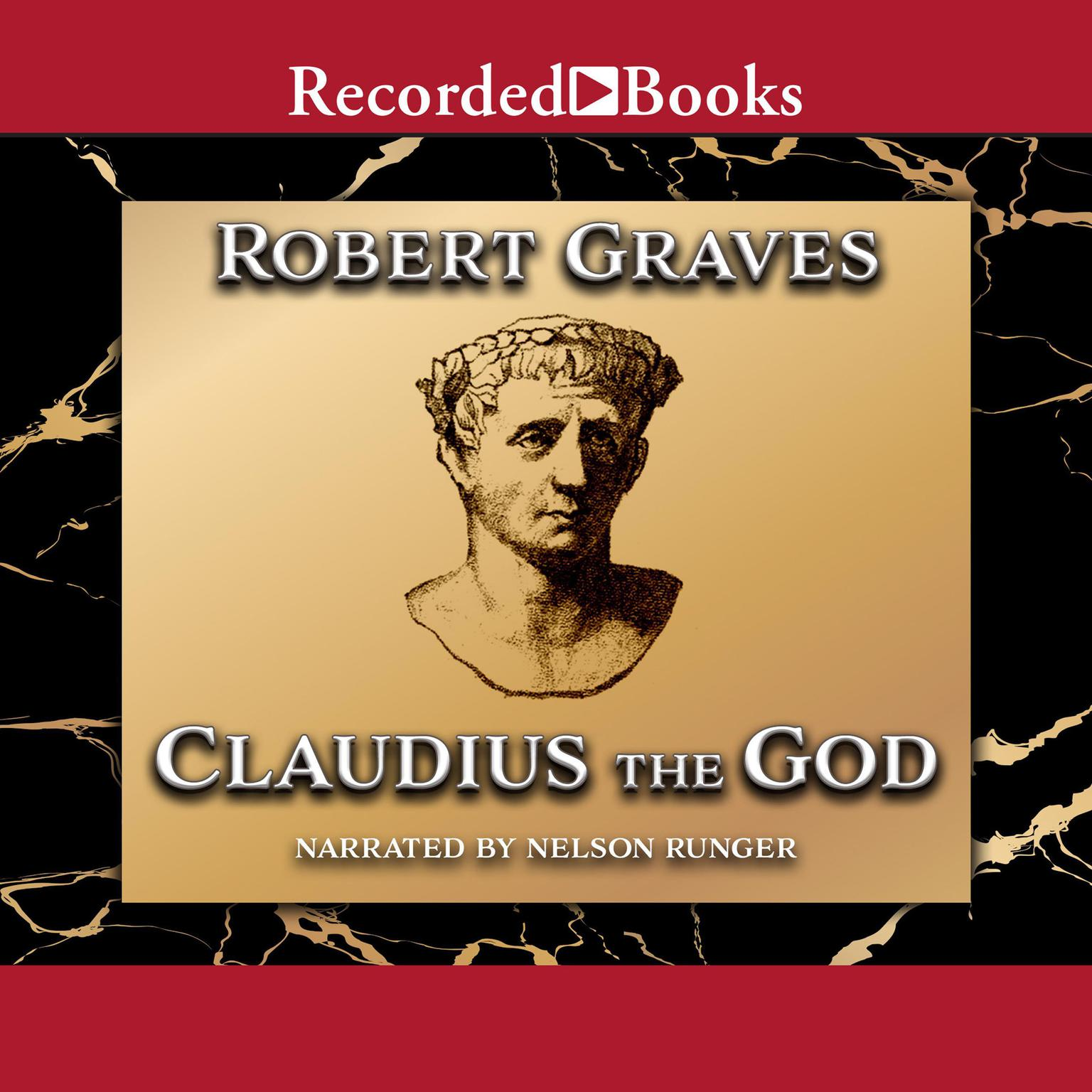 Printable Claudius the God: Sequel to I, Claudius Audiobook Cover Art