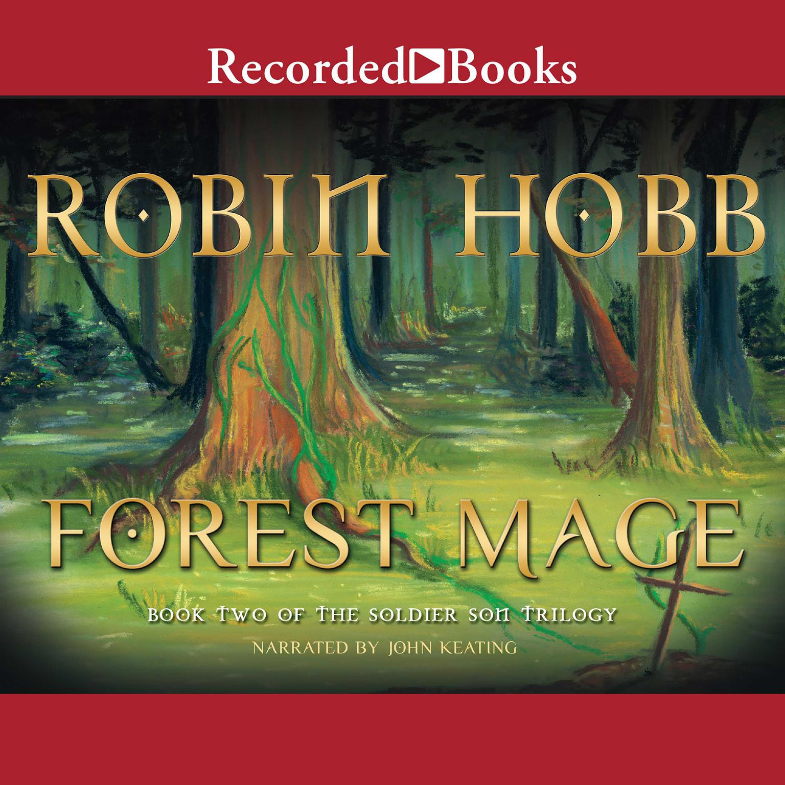 Printable Forest Mage Audiobook Cover Art