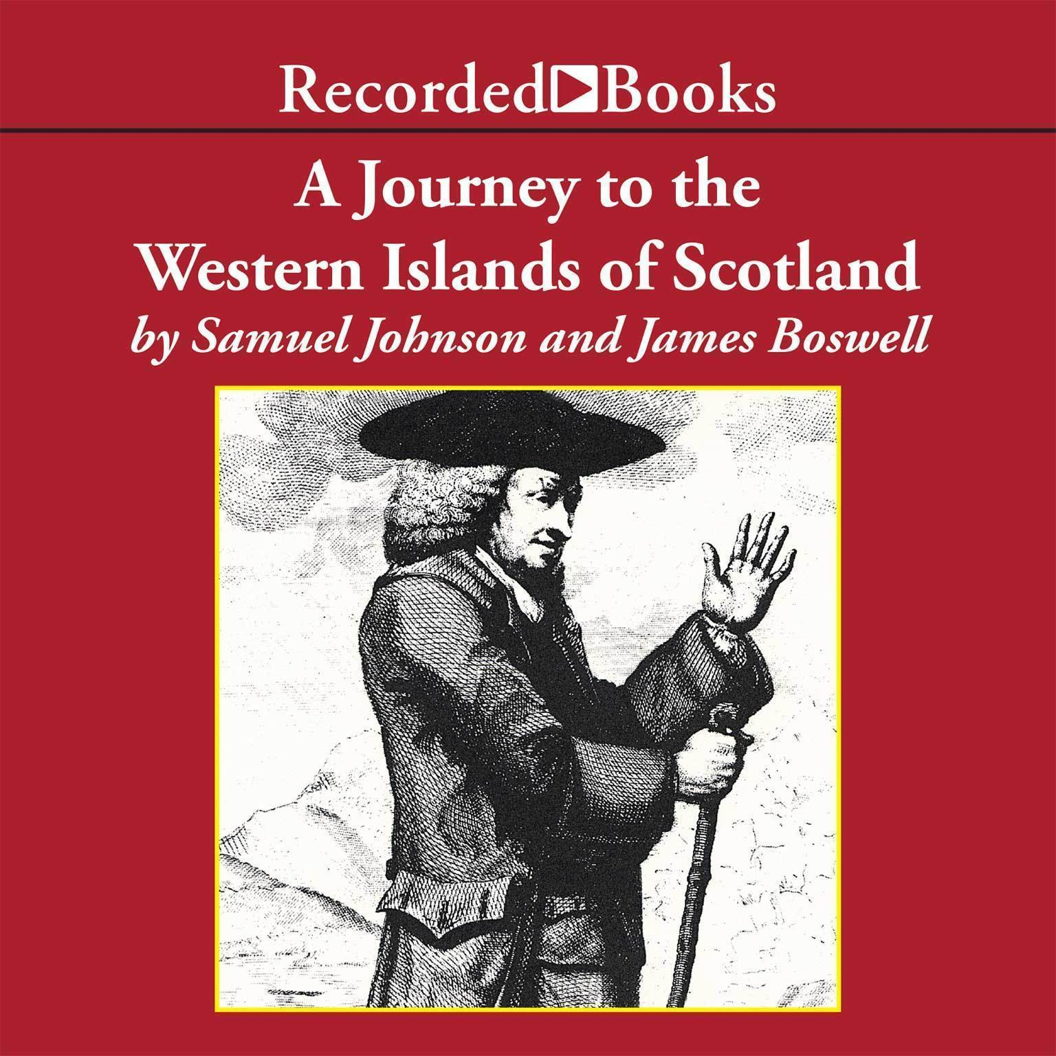 Printable A Journey to the Western Islands of Scotland Audiobook Cover Art