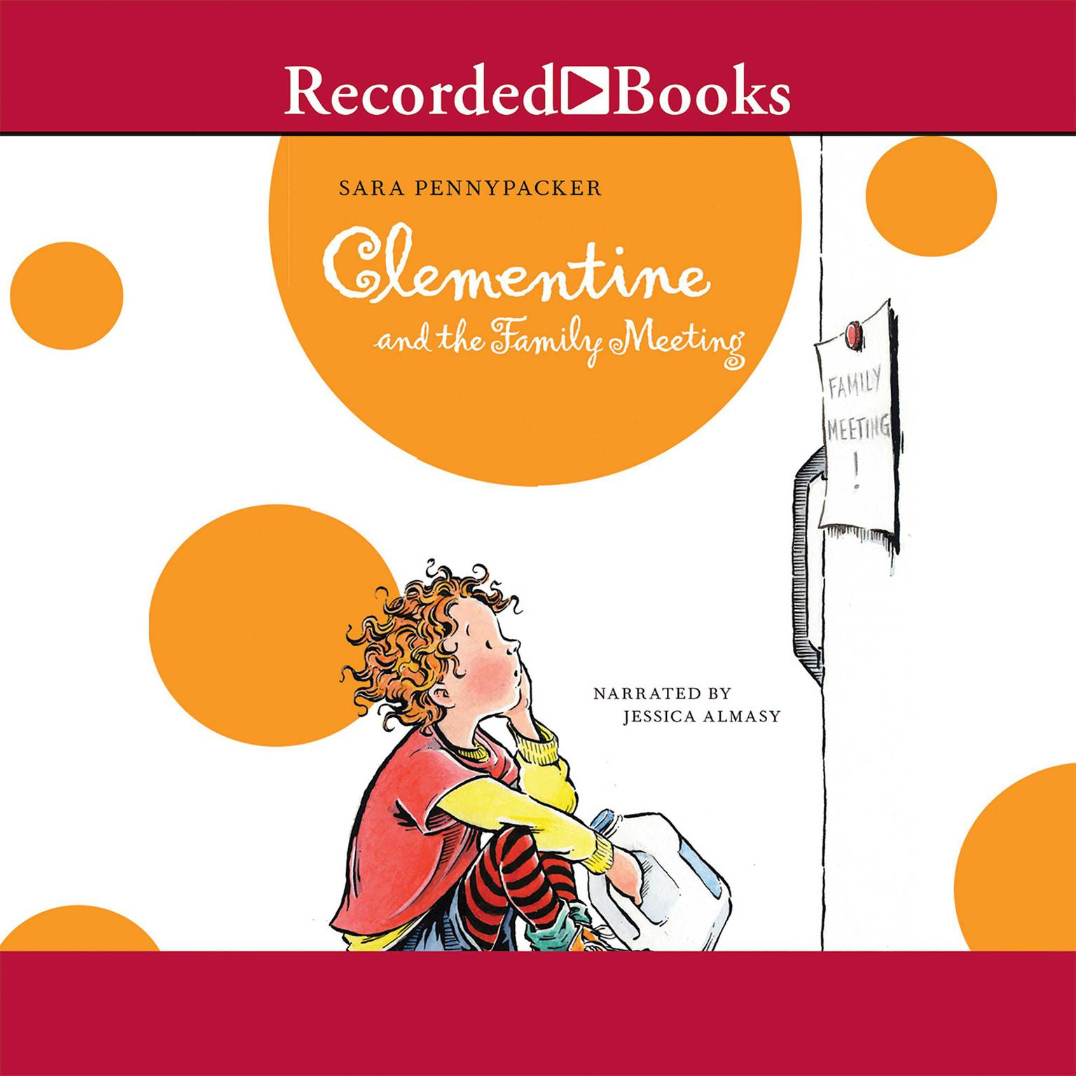 Printable Clementine and the Family Meeting Audiobook Cover Art