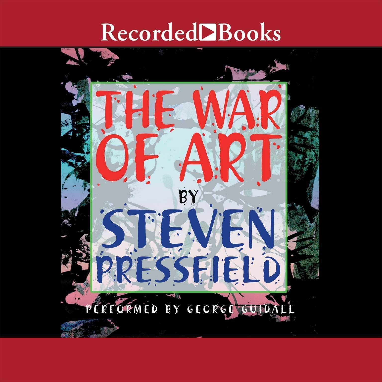 Printable The War of Art: Winning the Inner Creative Battle Audiobook Cover Art