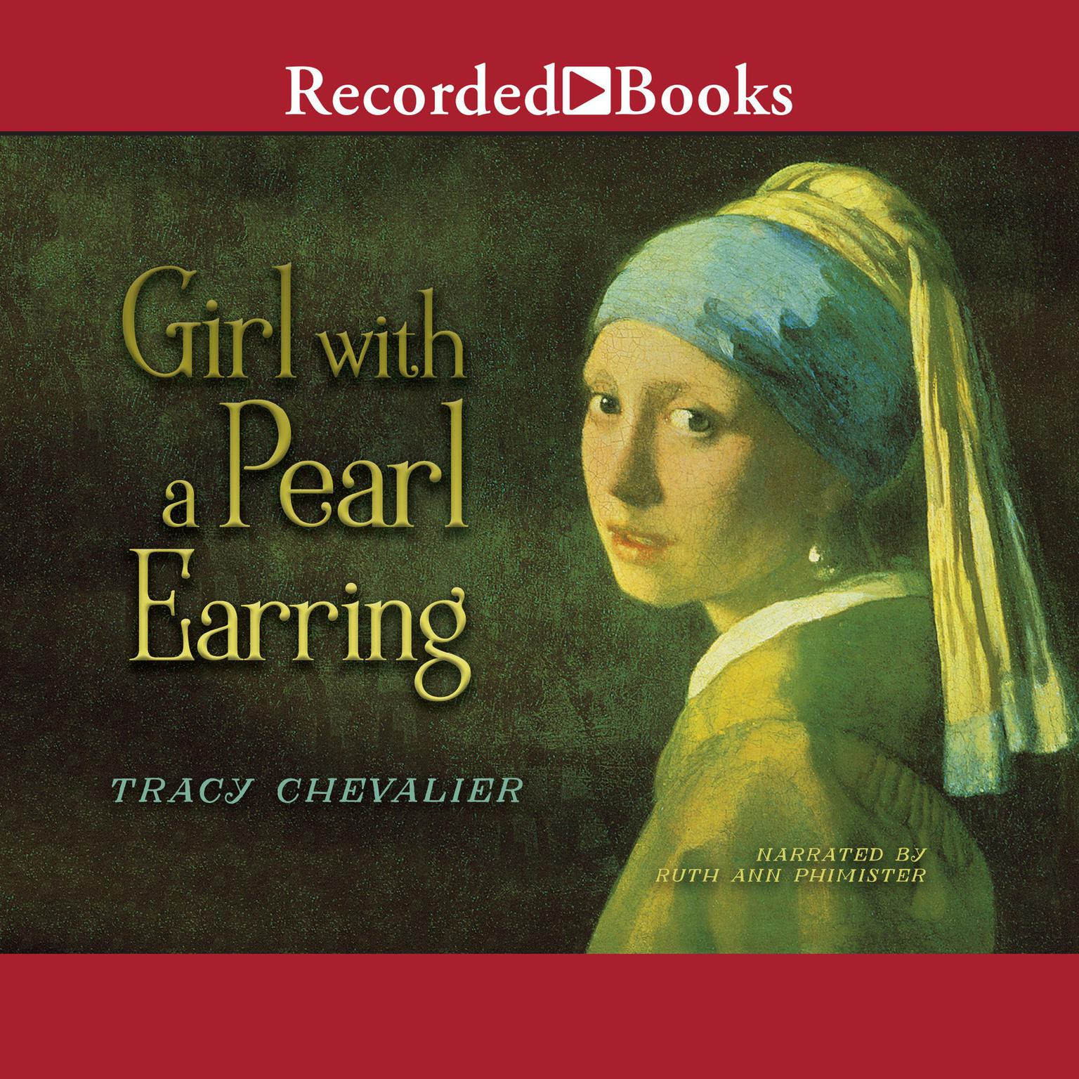 Printable Girl with a Pearl Earring Audiobook Cover Art