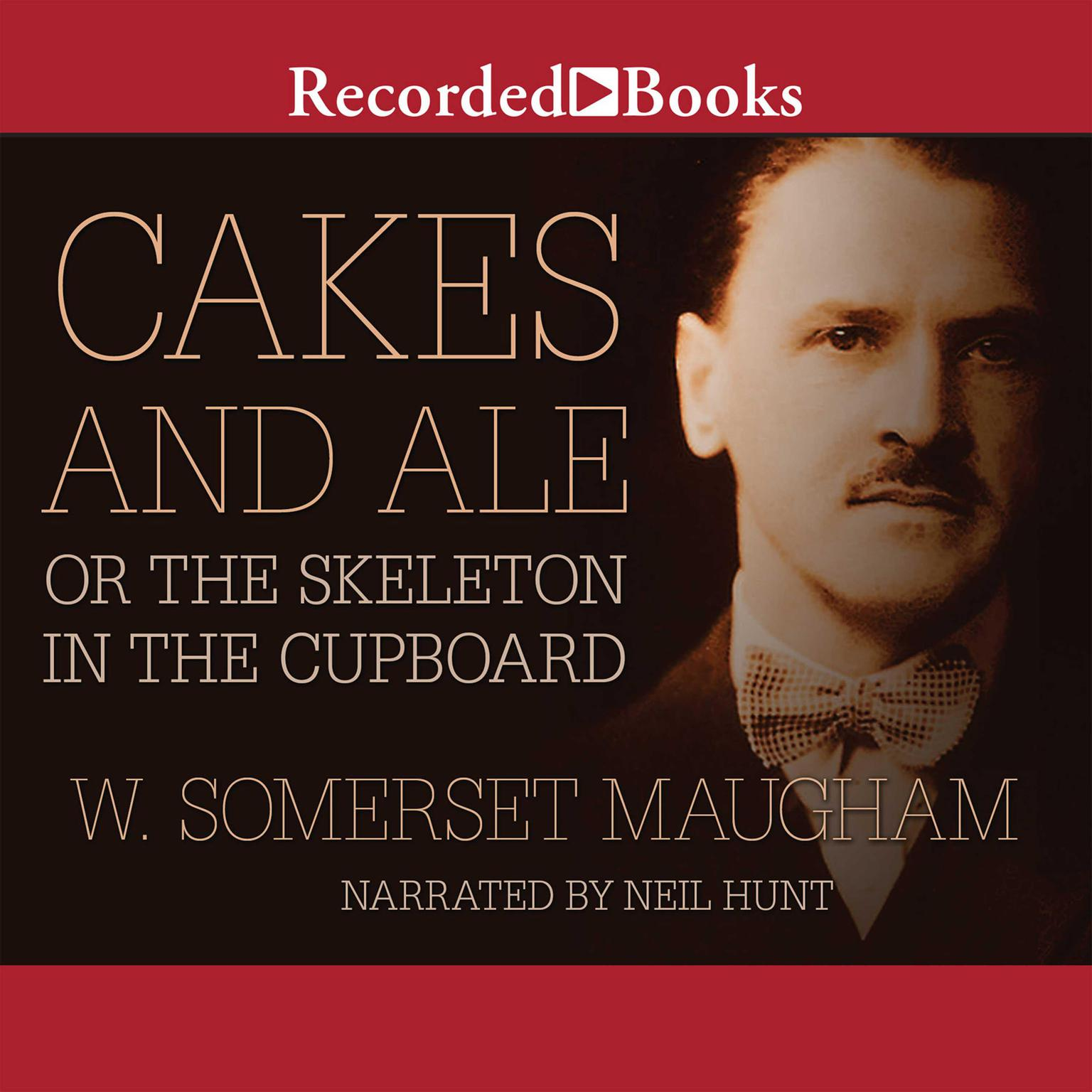 Printable Cakes and Ale: or The Skeleton in the Cupboard Audiobook Cover Art