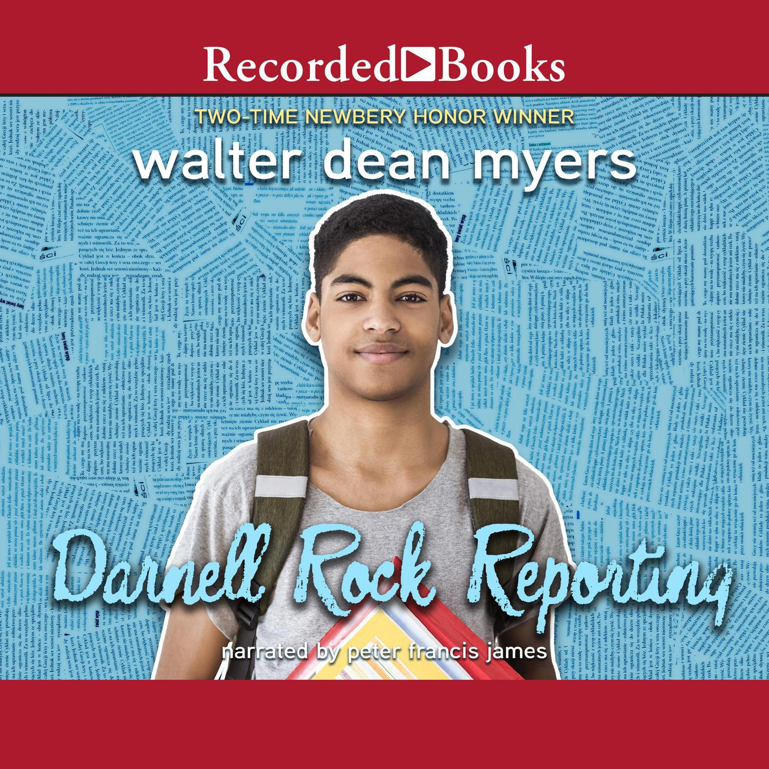 Printable Darnell Rock Reporting Audiobook Cover Art